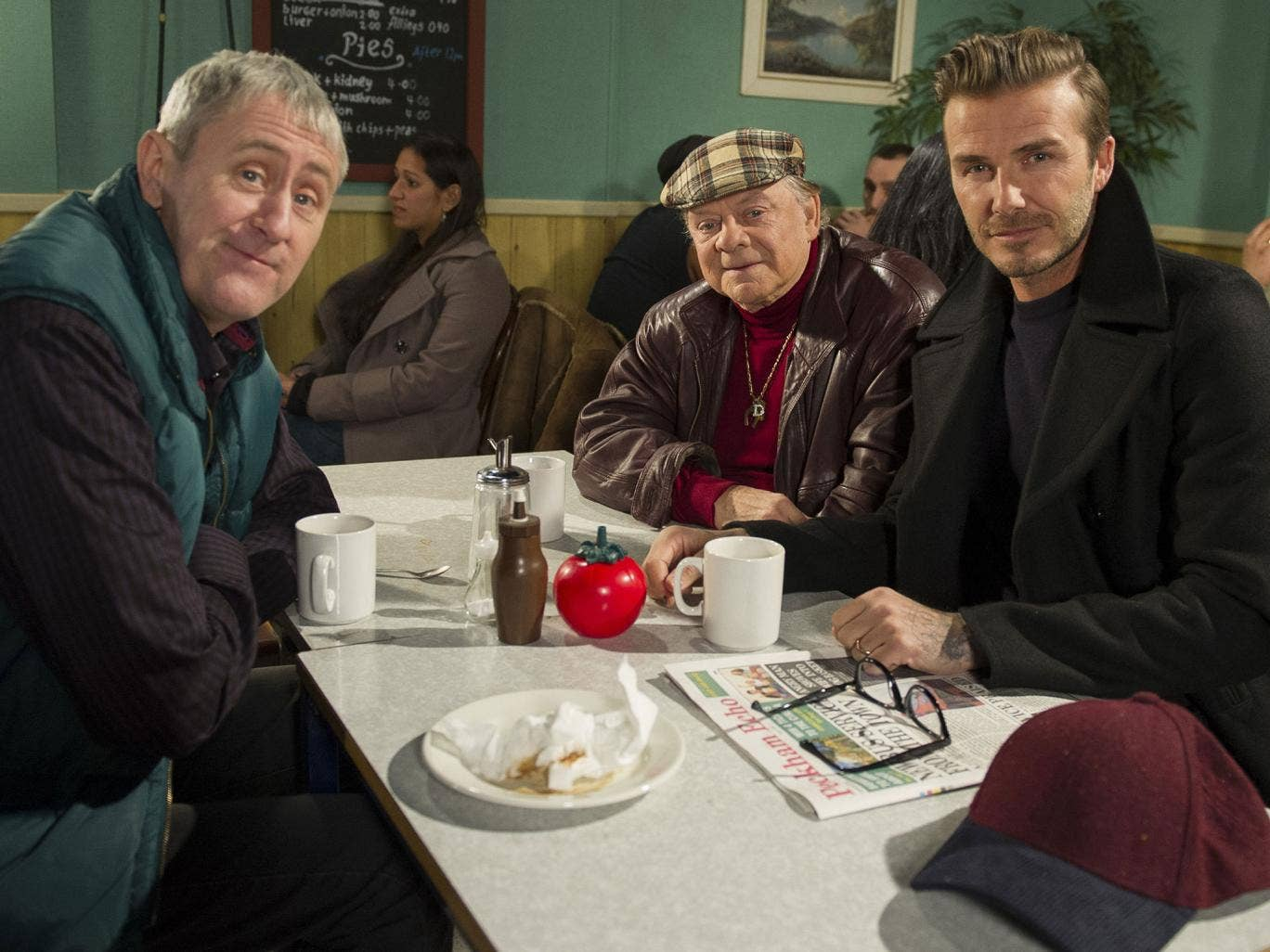David Beckham will have a cameo role in the Only Fools and Horses reunion sketch on Sport Relief in March