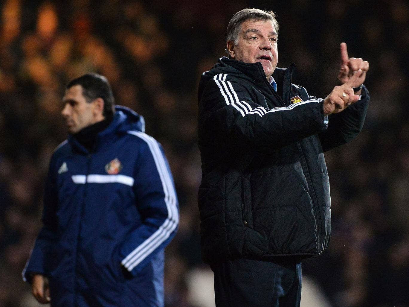 Sam Allardyce has been unable to add to his West Ham squad in this window