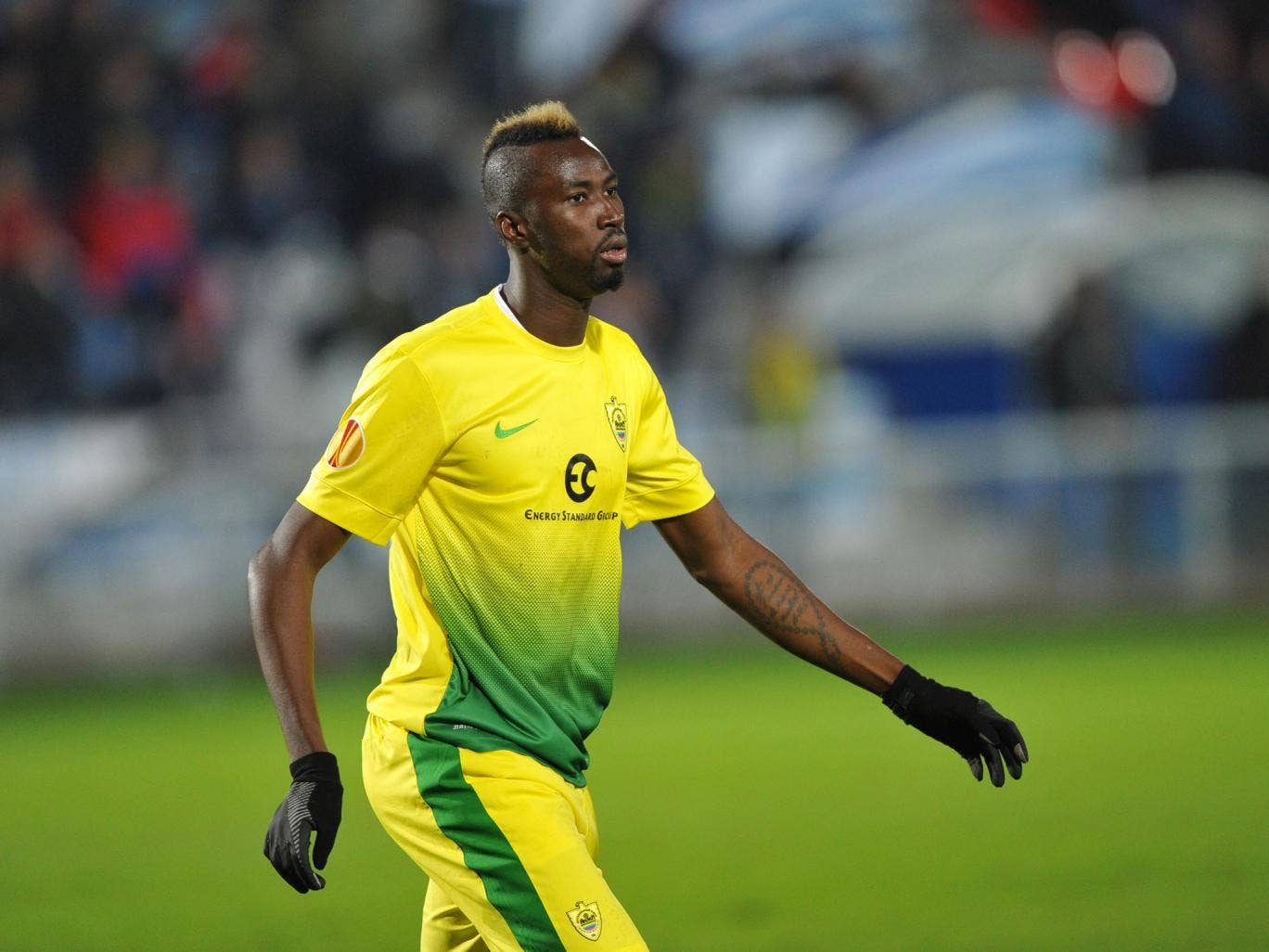 Lacina Traore has completed a move to Everton