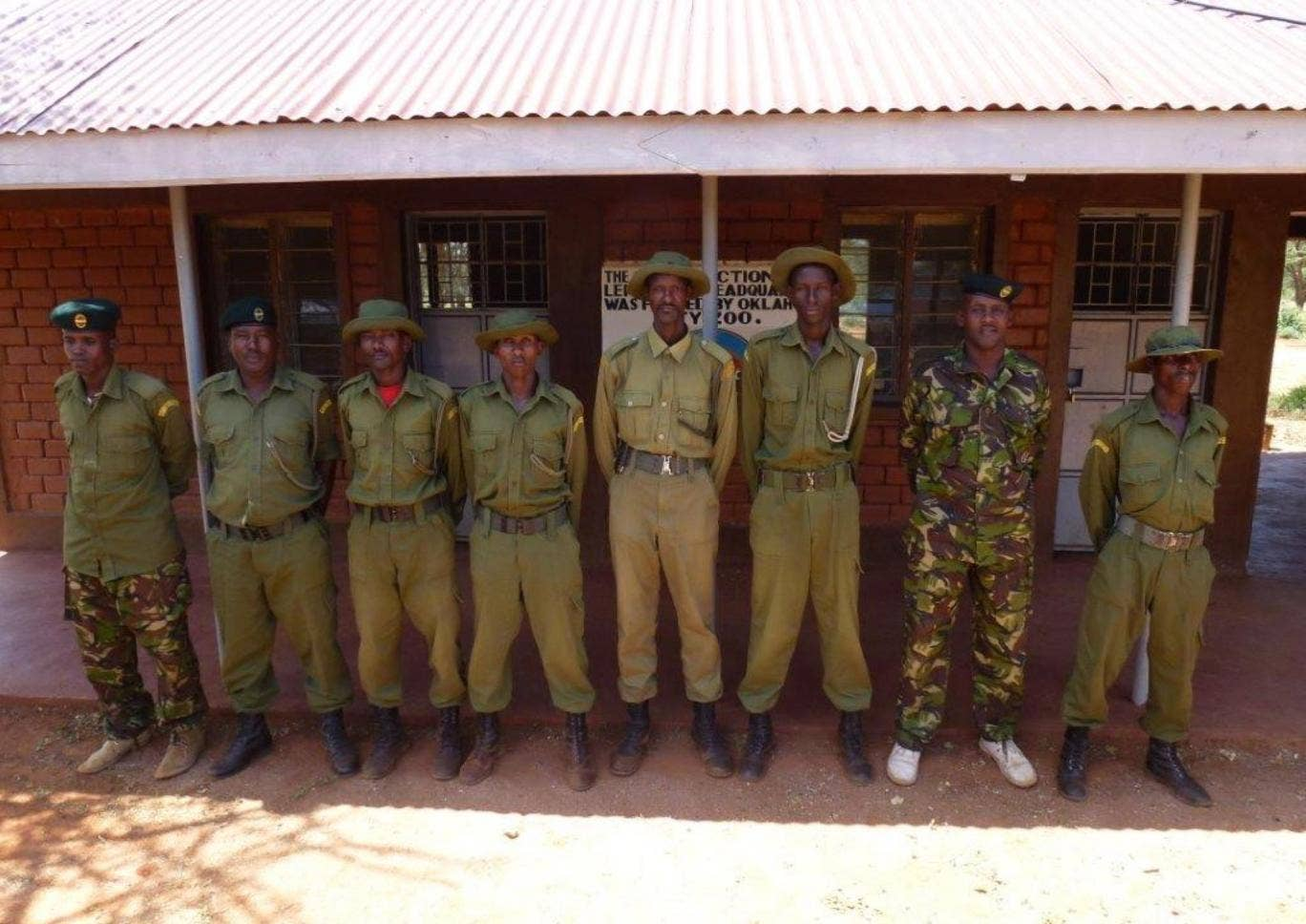Space for Giants trains and employs community scouts to patrol their local area and report incidents of poaching.