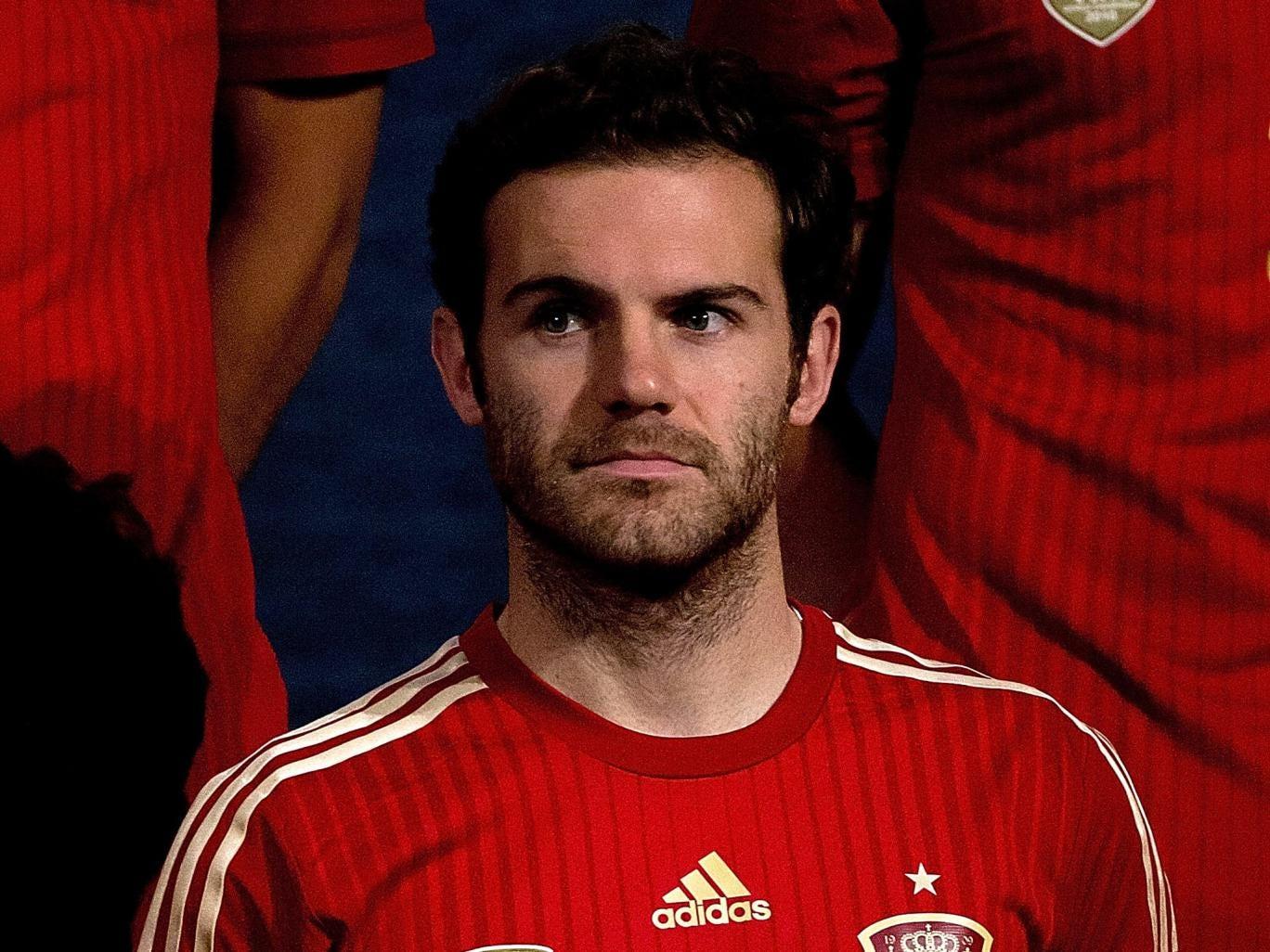 Spain midfielder Juan Mata
