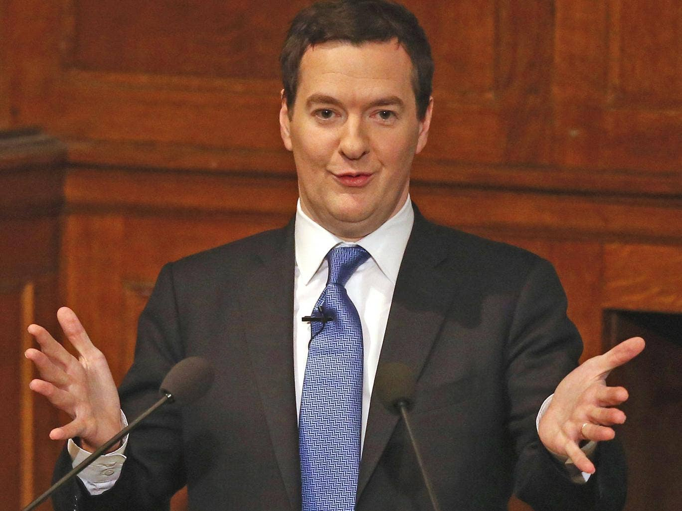 George Osborne will consider a plan to raise the minimum contribution rate for private sector pension schemes