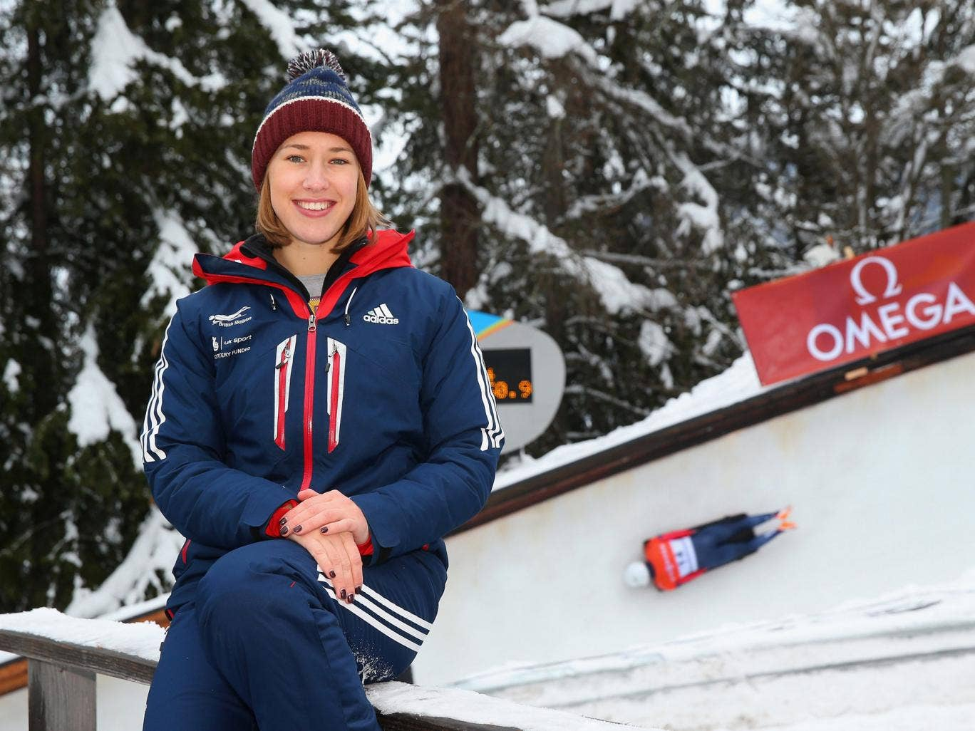 Lizzy Yarnold is among the brightest hopes for Team GB in Sochi