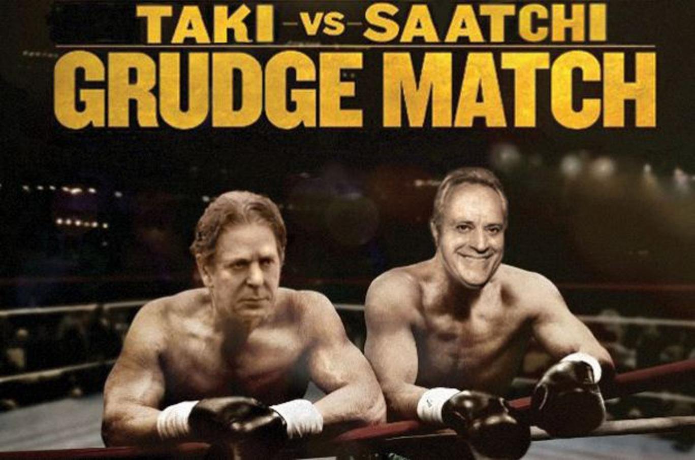 Charles Saatchi challenges Spectator journalist Taki to a cage fight after Nigella column