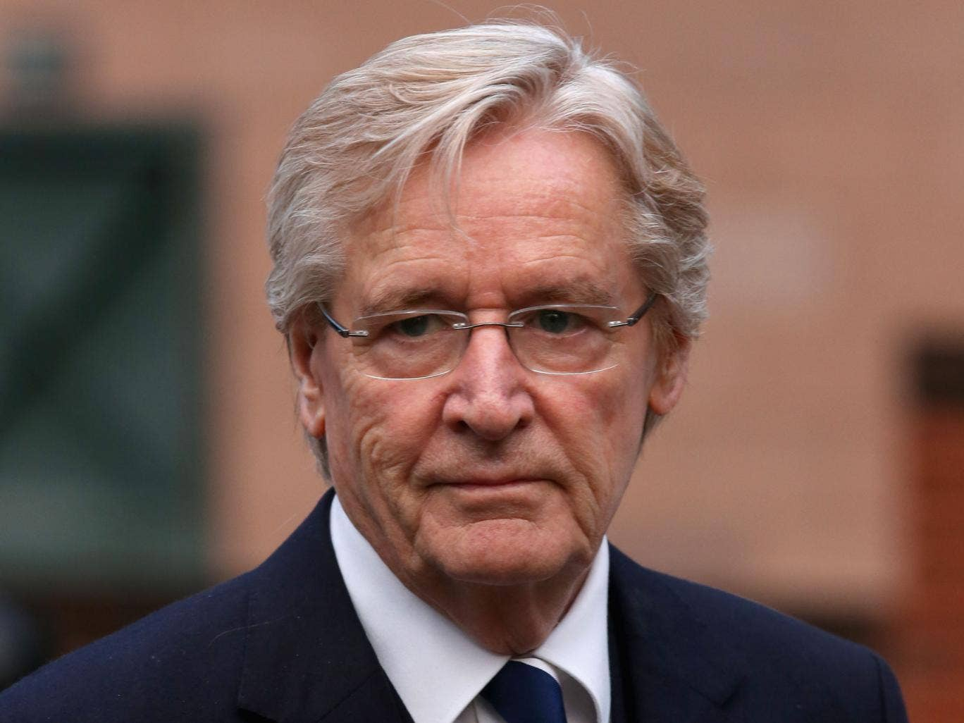 Coronation Street actor William Roache arrives at Preston Crown Court for the fourth day of his trial of historical sexual offence allegations on January 17, 2014 in Preston, Lancashire. Coronation Street star Roache who plays the character Ken Barlow on