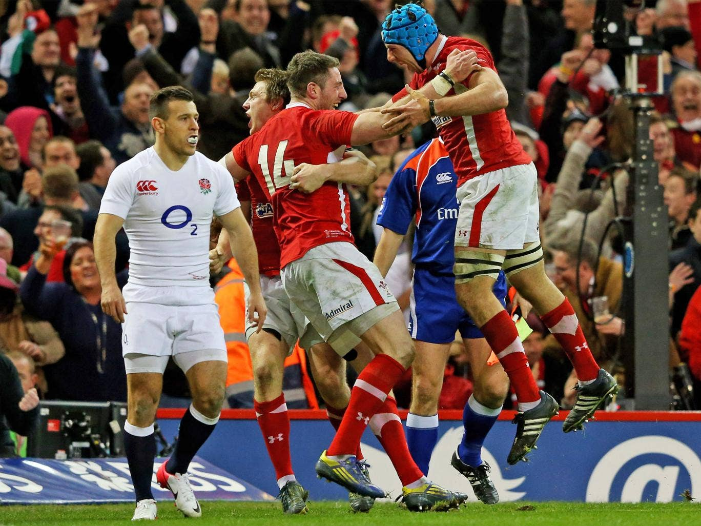 Stuart Lancaster says England have not been scarred by their heavy defeat at the hands of Wales in last year's title decider
