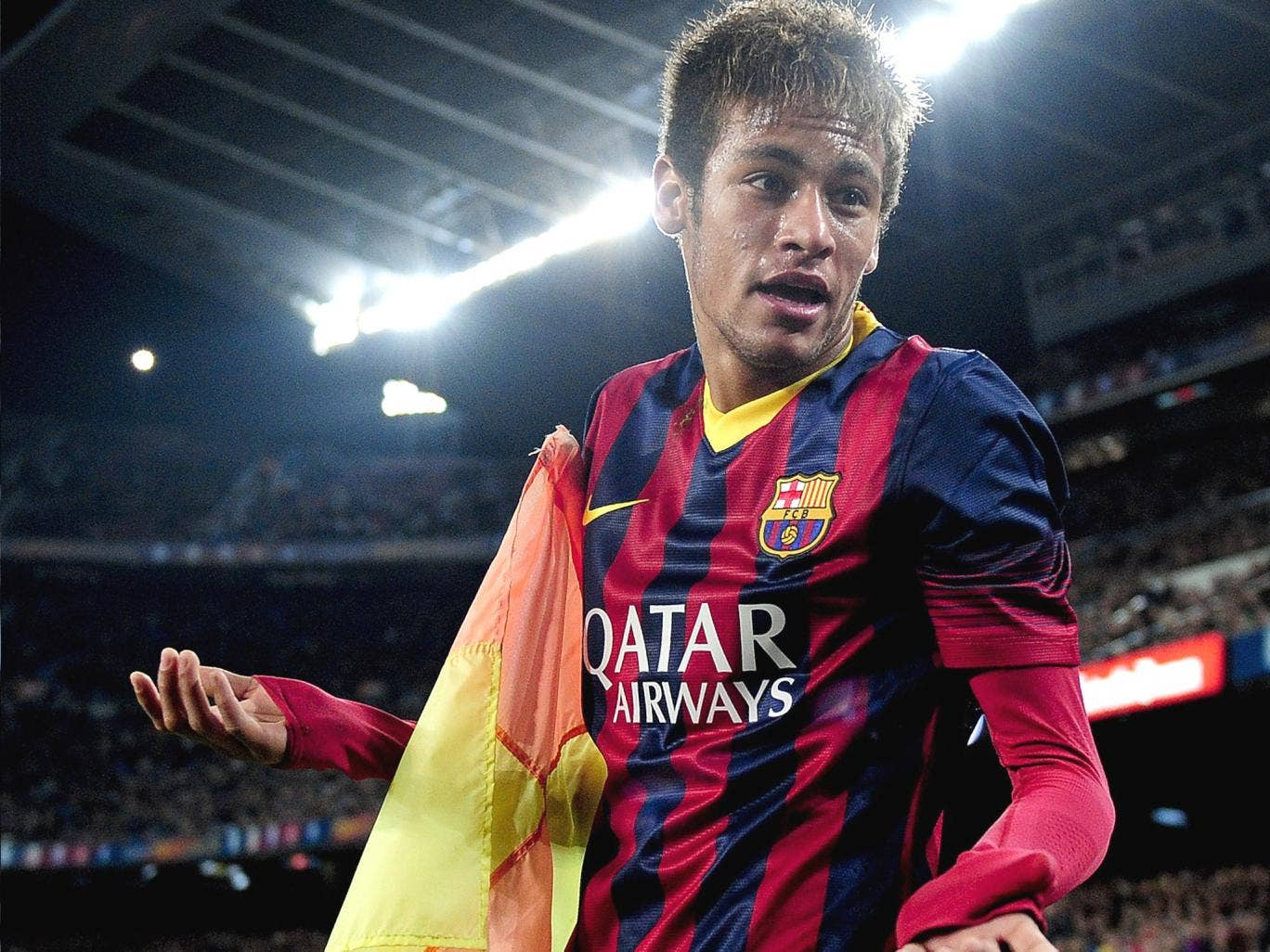 Neymar's fee was originally quoted as €57m but a court has heard the true cost to Barça was €100m