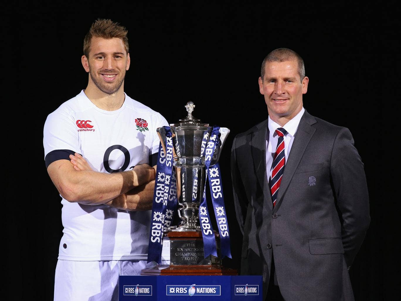 Chris Robshaw and Stuart Lancaster hope to guide England to Six Nations glory