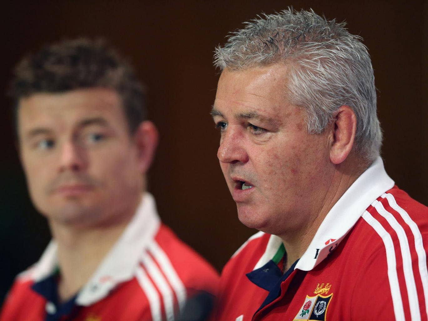 Warren Gatland has admitted that his decision to drop Brian O'Driscoll from the third British and Irish Lions Test will give Ireland v Wales an 'extra twist'