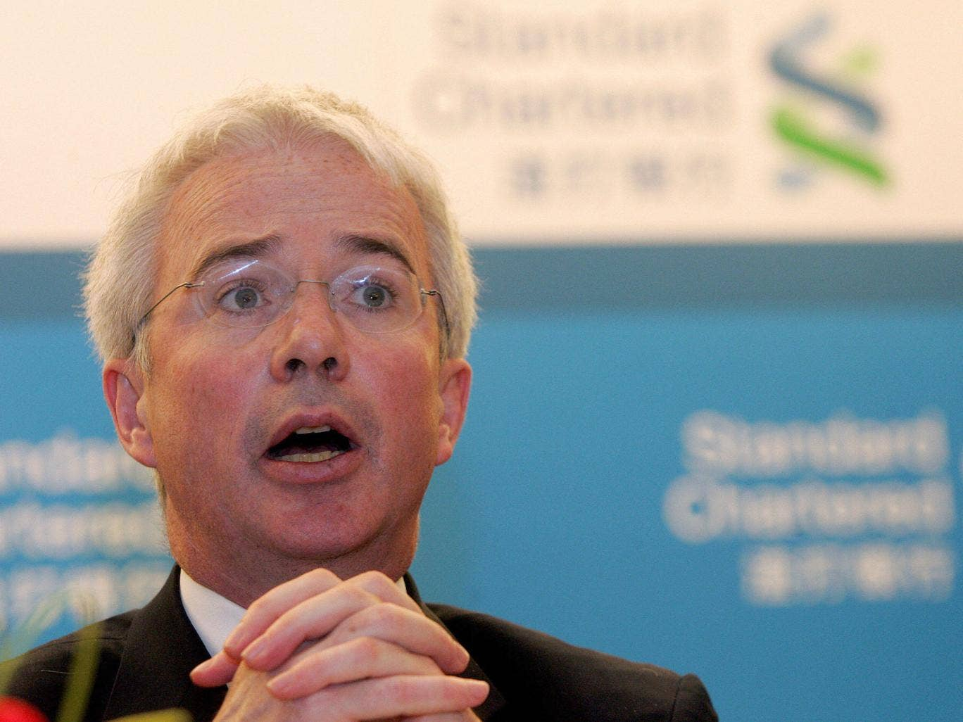 Standard Chartered Group Chief Executive Peter Sands