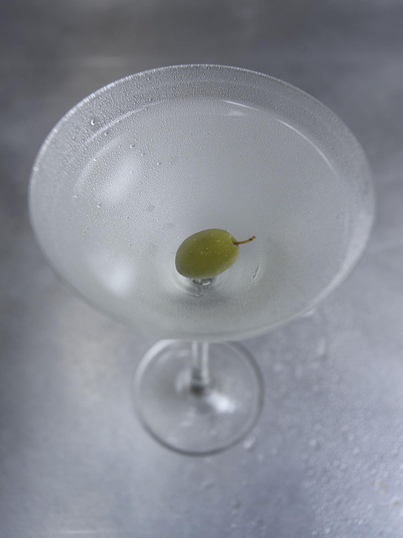 Shaken, not stirred: a pre-dinner martini