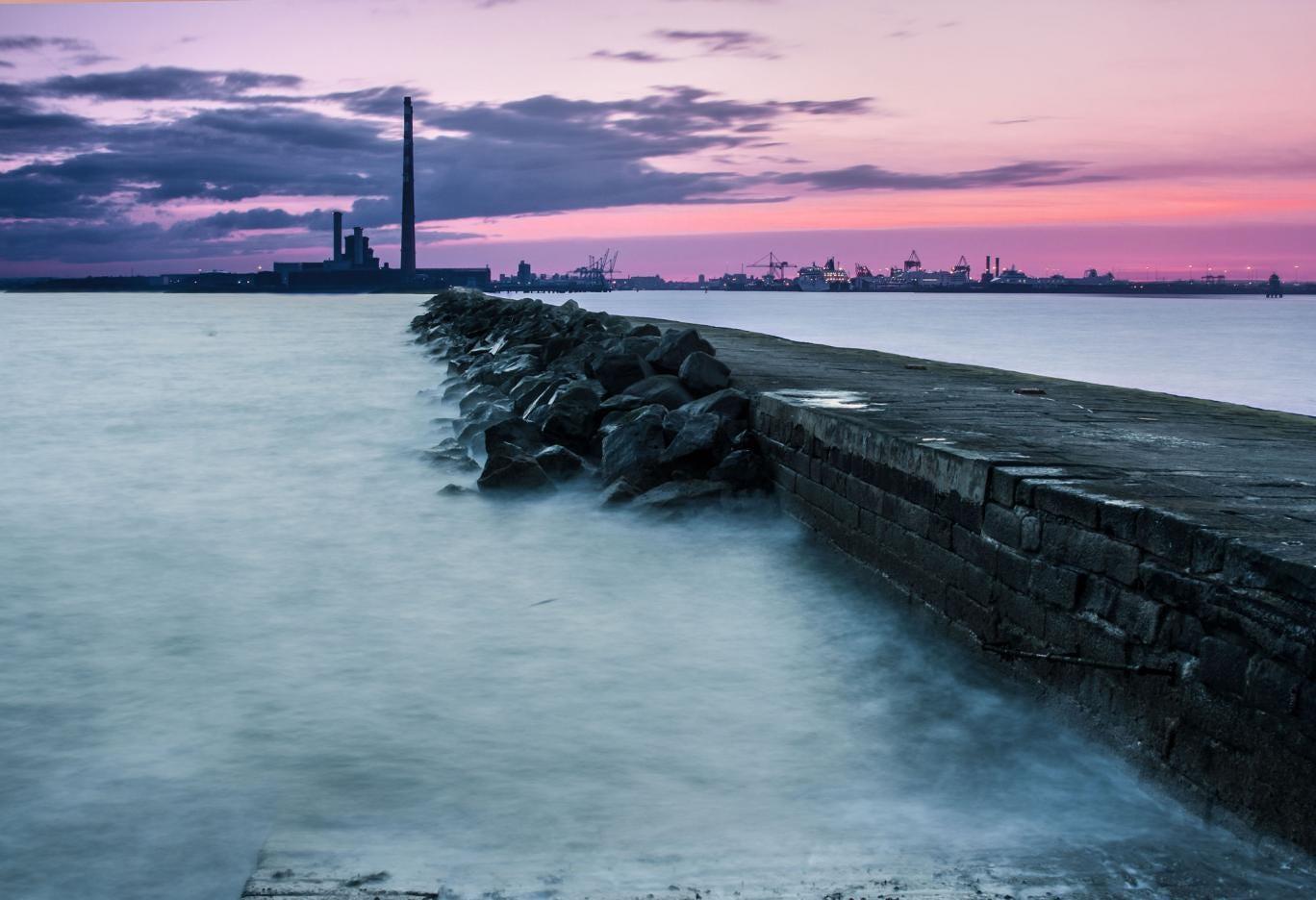 Windswept: Dublin's welcoming port