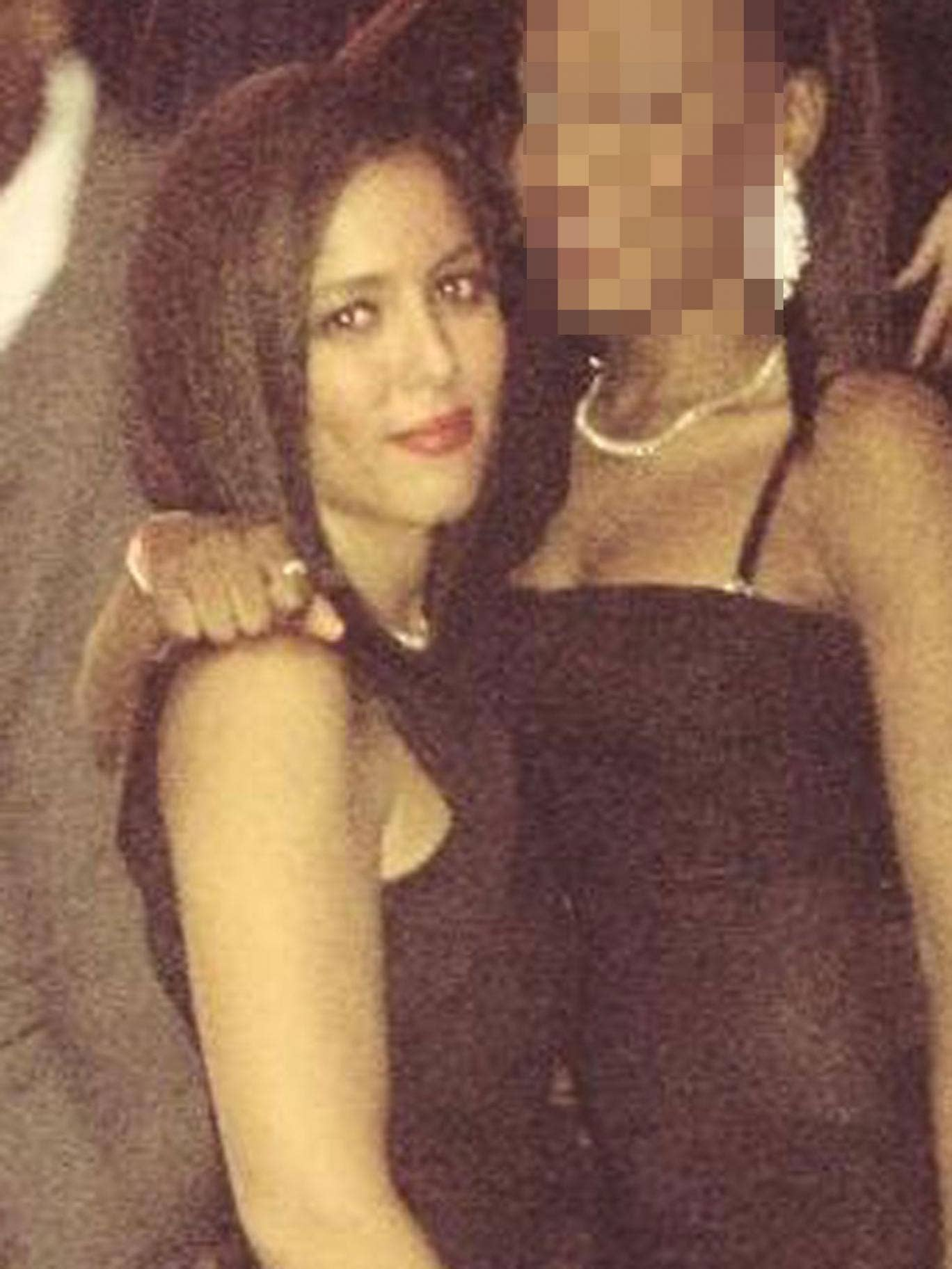Nawal Msaad, left, was allegedly caught 'smuggling €20,000 (£16,500) in her knickers', and has been charged with trying to help fund terrorism in Syria