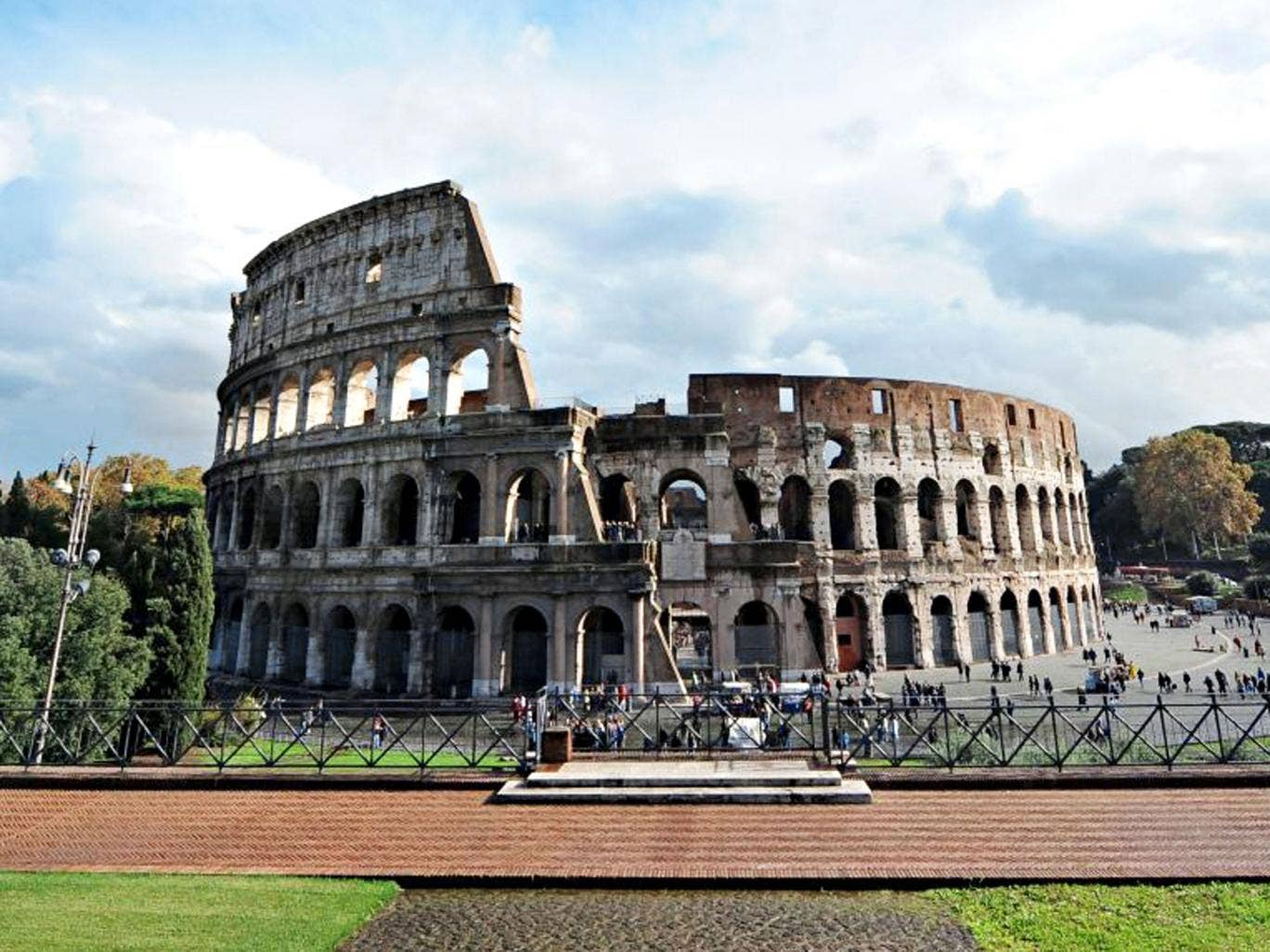 Amazing place: the Colosseum in Rome