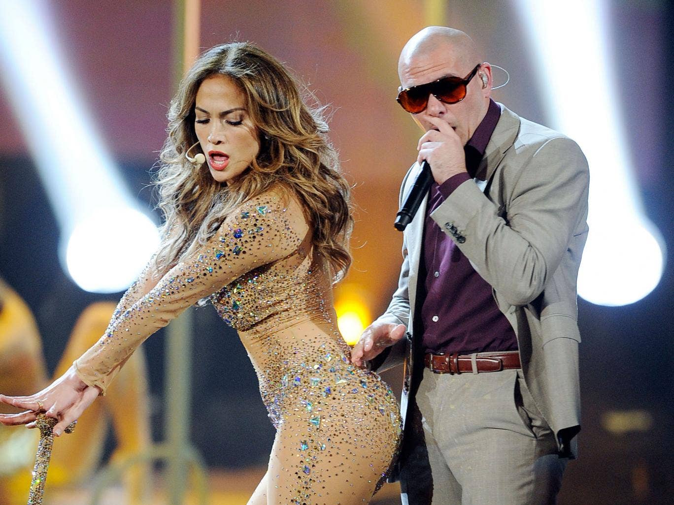 Jennifer Lopez and Pitbull are collaborating the the World Cup 2014 song,  'We Are One (Ole Ola)'