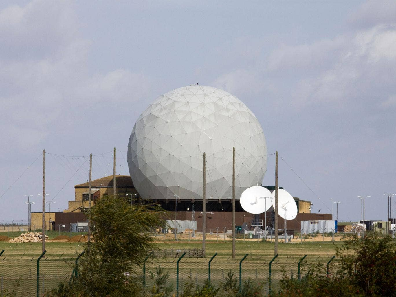 RAF Croughton is a relay base for listening stations