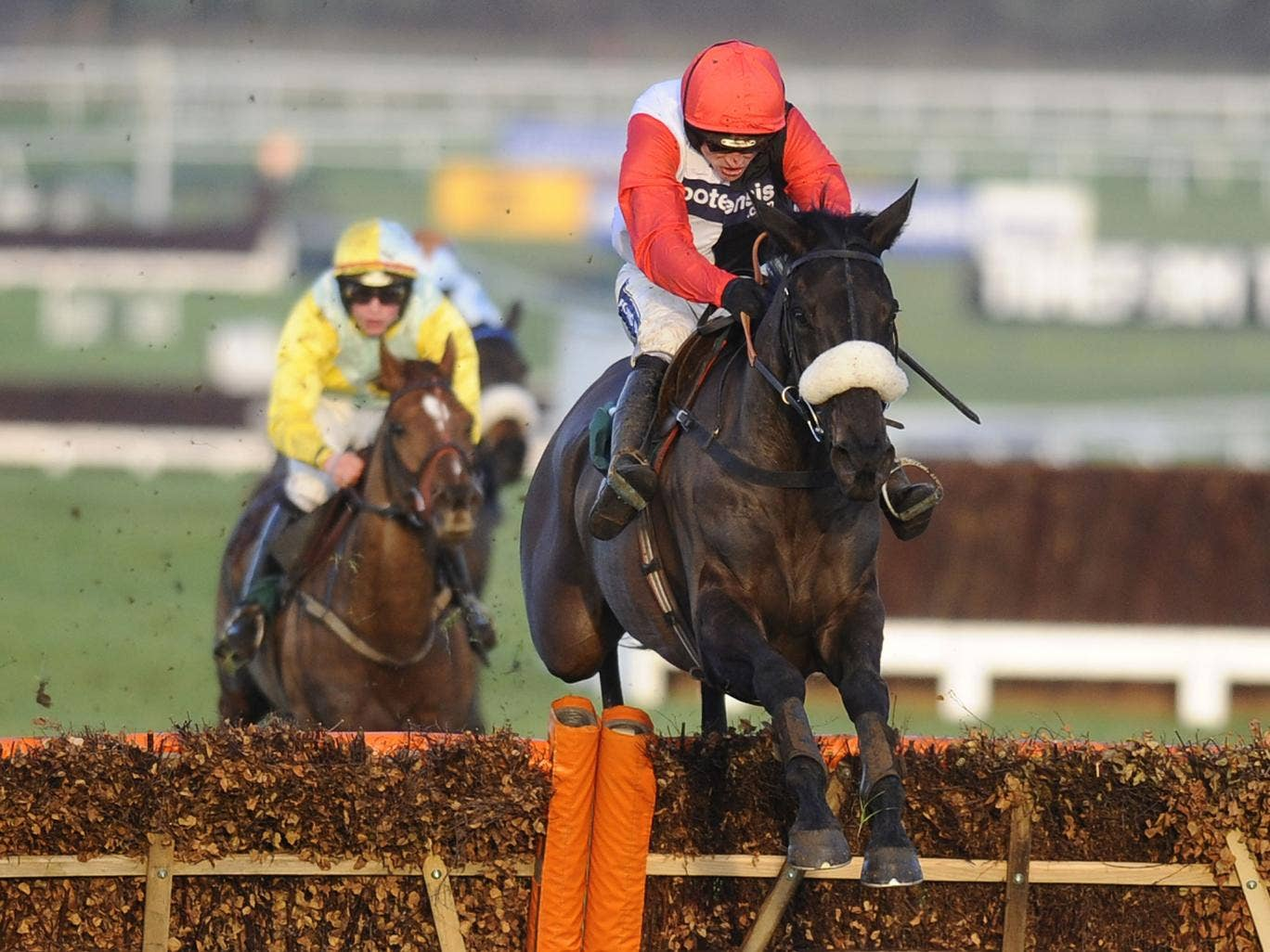 Big Buck's wins in 2012 at Cheltenham, where he returns on Saturday after missing last year