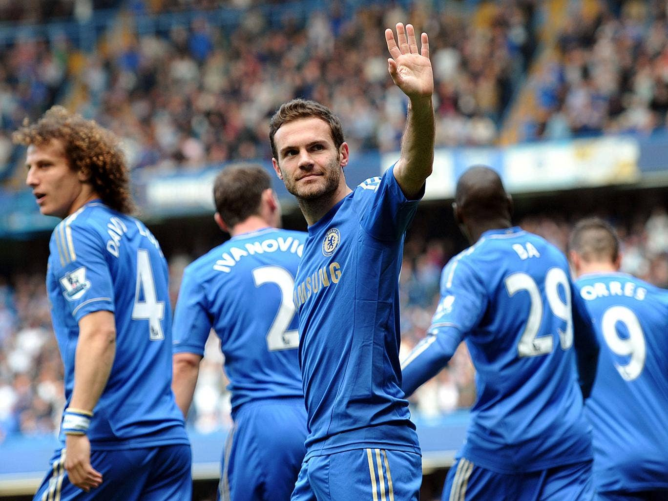 Juan Mata says goodbye to Chelsea as a deal is finally reacher for his transfer to Manchester United