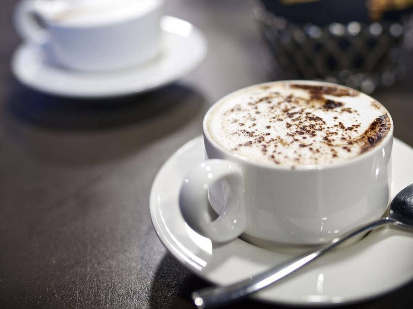 A new business - like a coffee shop - doesn't need to register for VAT initially