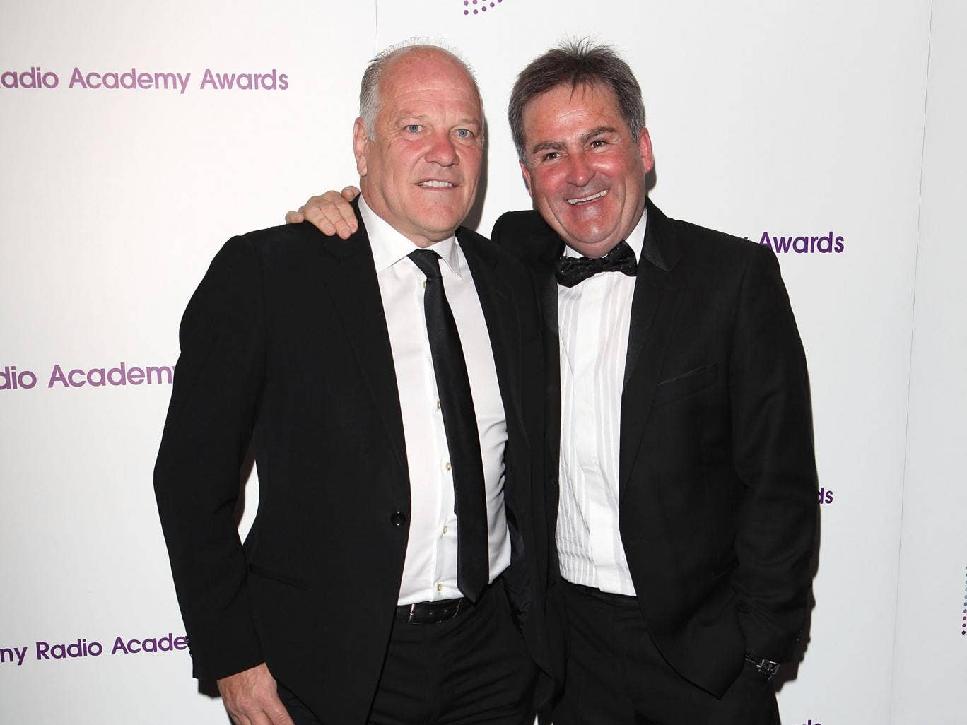 Andy Gray and Richard Keys at the Sony Radio Academy Awards in 2012