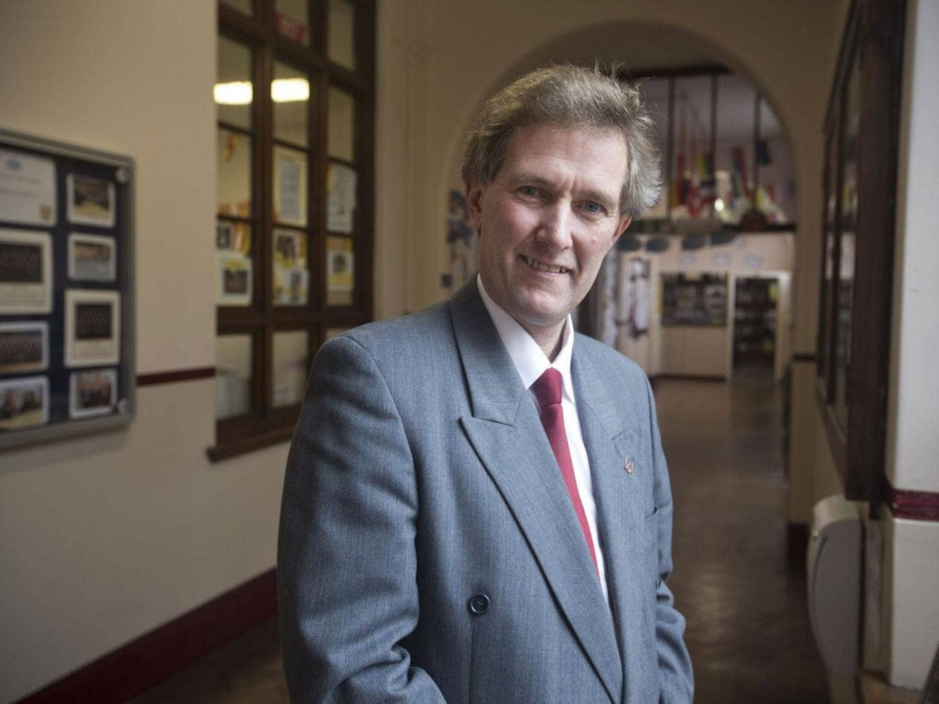 Head of St Mary's, Mike Kennedy, aims for 'all-comers'