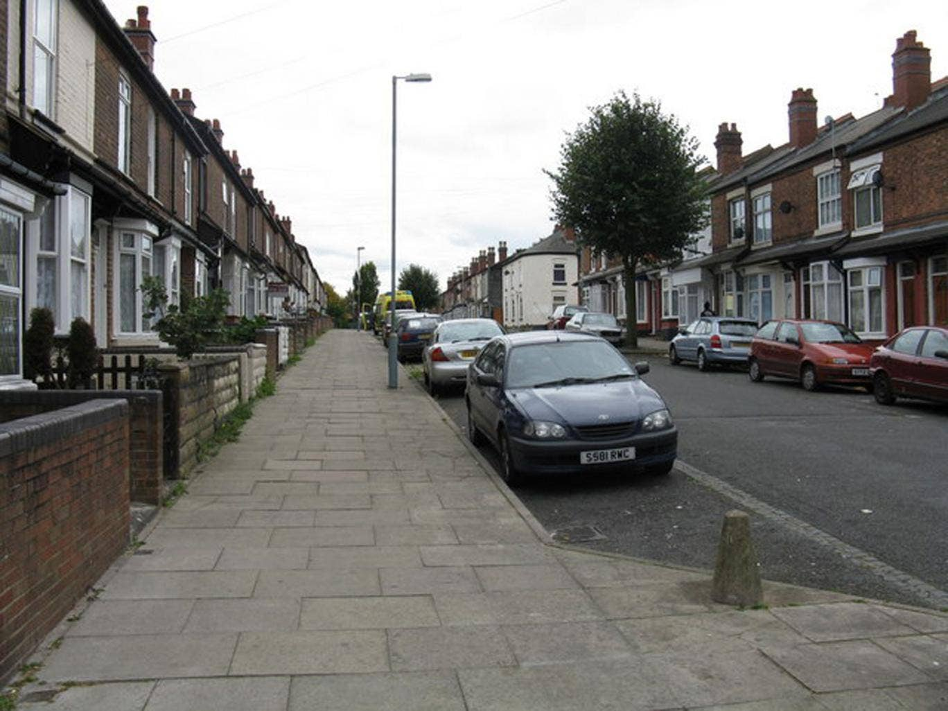 James Turner Street in Birmingham, the setting for Channel 4's documentary series 'Benefits Street'