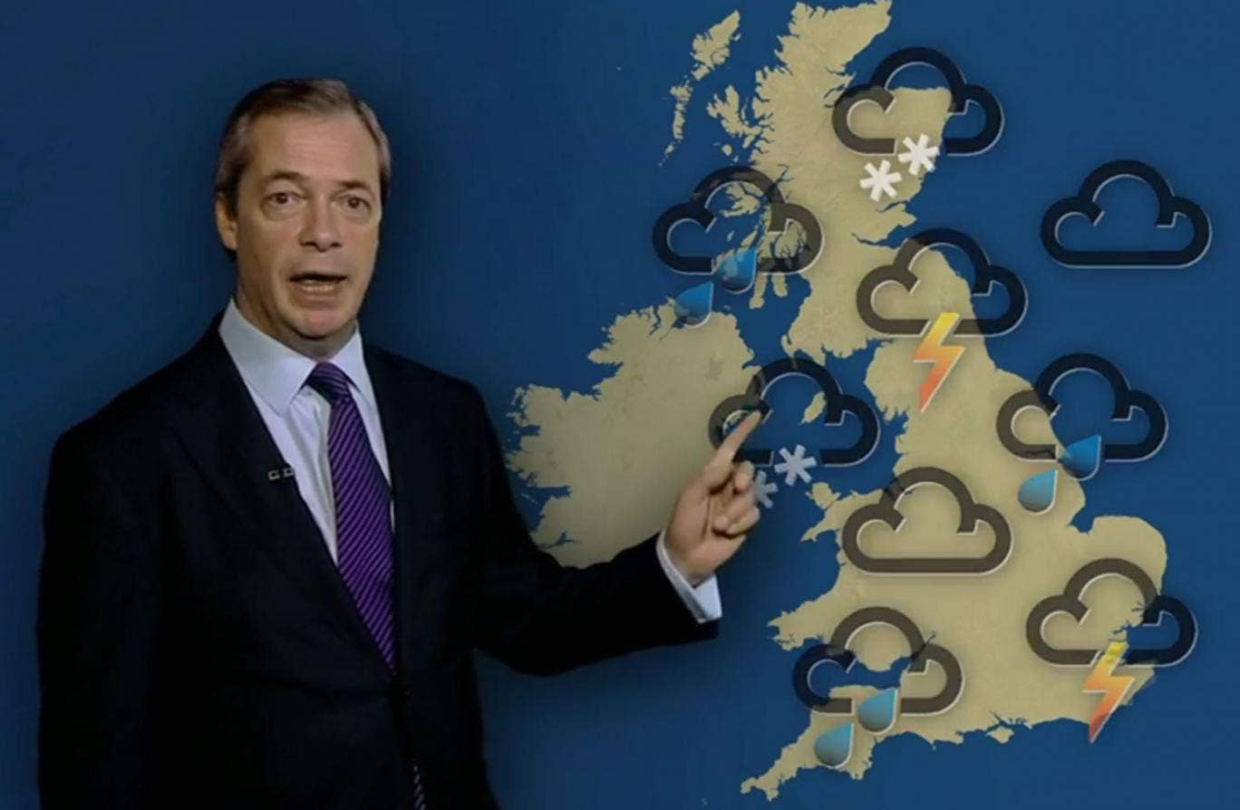 Nigel Farage described the scandal over Henley-upon-Thames councillor David Silvester's comments on gay marriage as a 'storm in a teacup'
