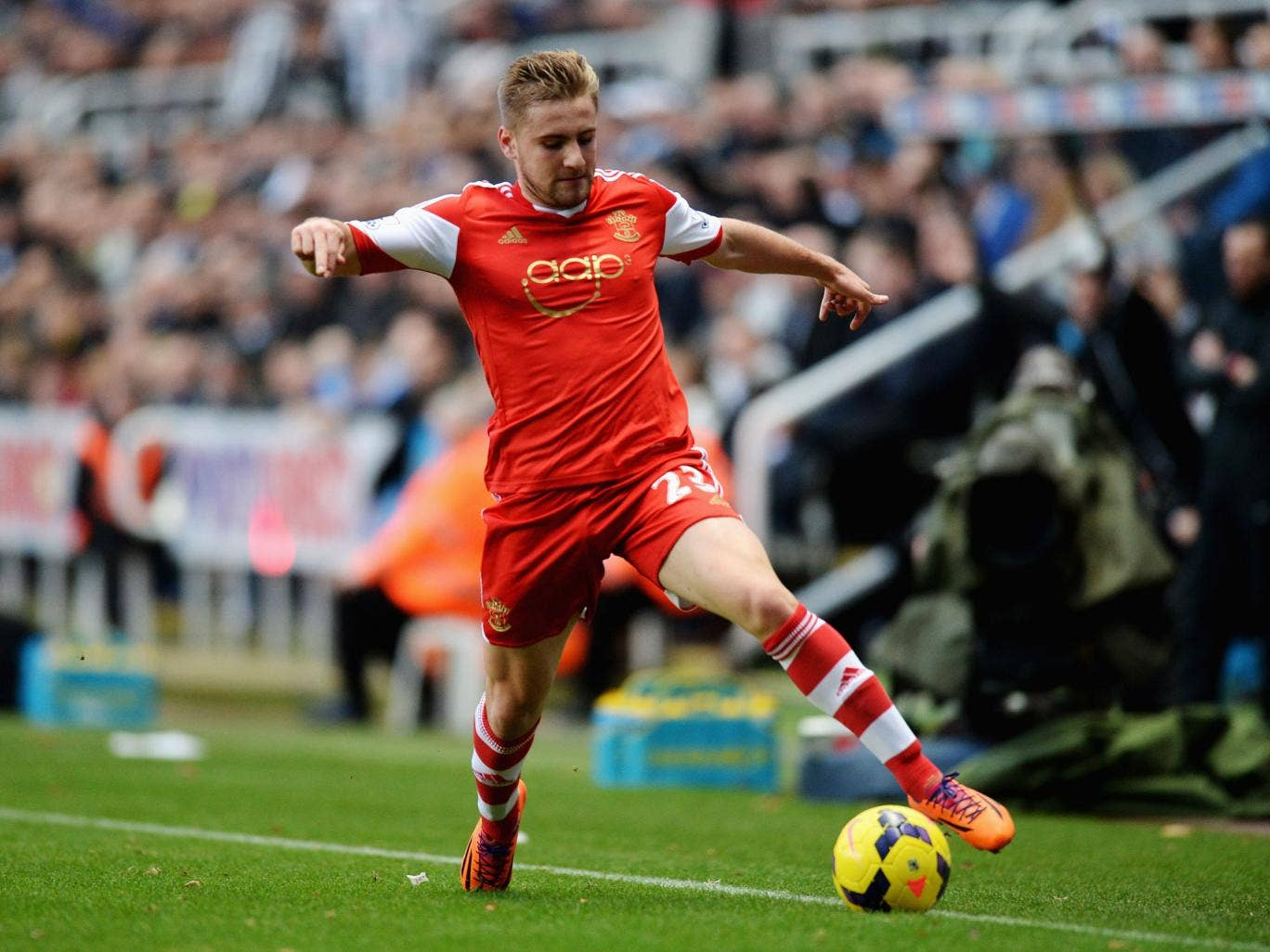 Luke Shaw, England's most talented young left-back, has to be retained
