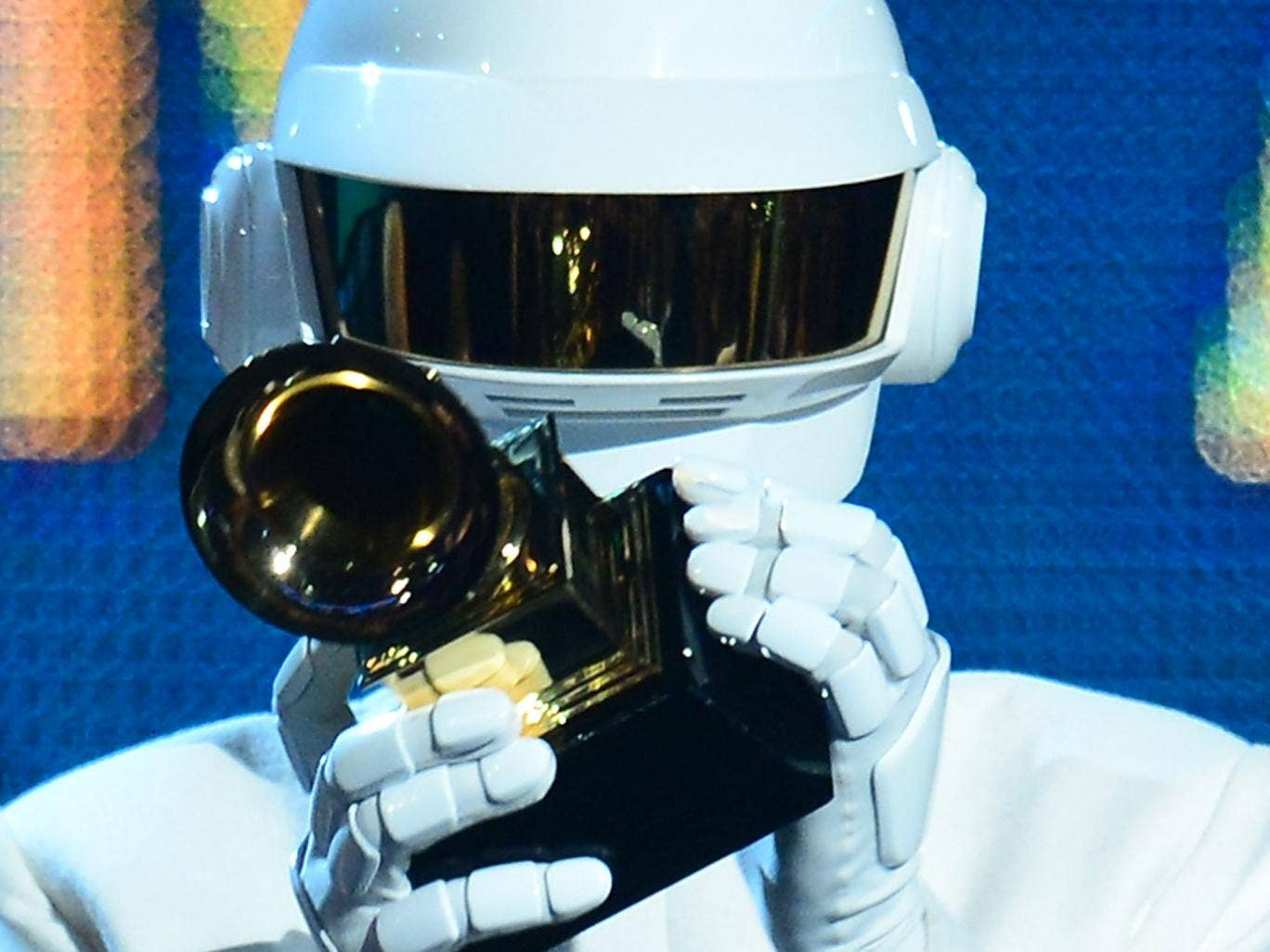 Daft Punk's electronic-funk grooves have won big at the Grammys