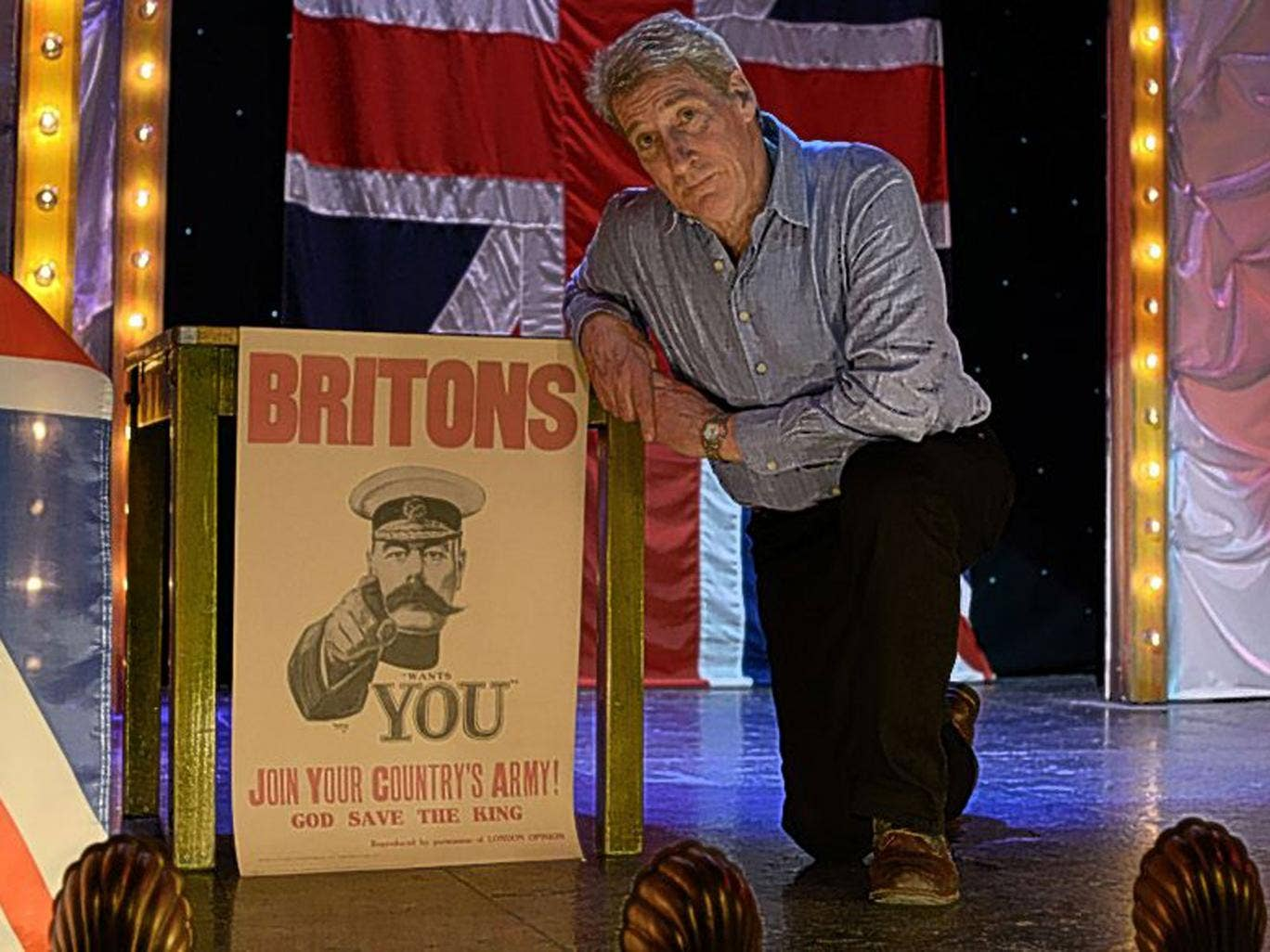 Flag day: Jeremy Paxman presents BBC1's 'Britain's Great War'