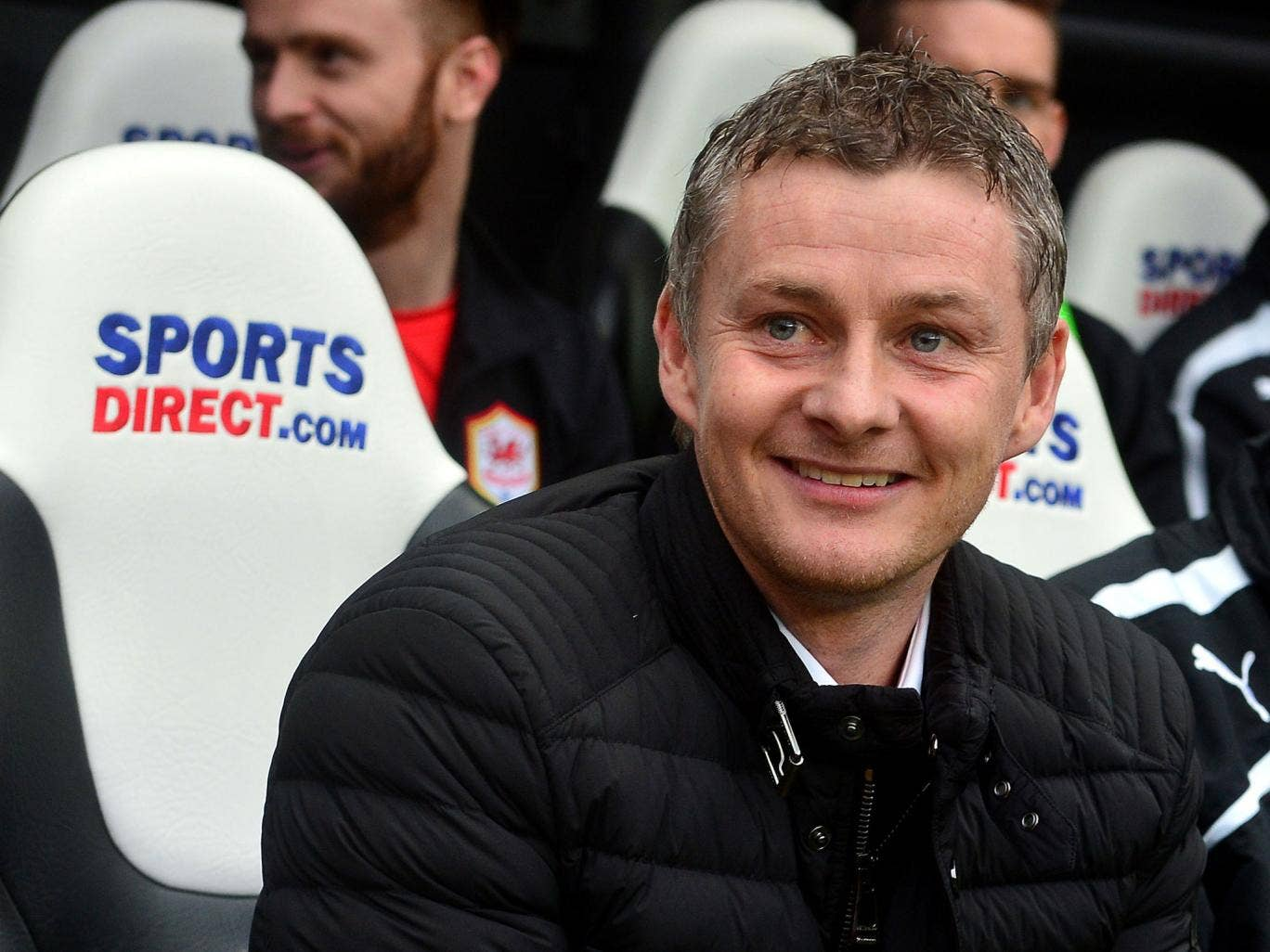 Ole Gunnar Solskjaer said he had not spoken to Sir Alex Ferguson since taking over at Cardiff City