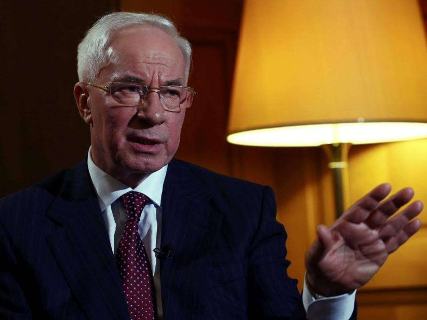 In a statement this morning on the government website, Mykola Azarov offered his resignation in order to encourage what he called 'social-political compromise'