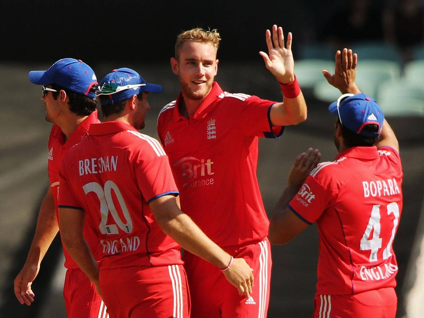 Stuart Broad is hoping for a strong finish to the tour of Australia with victory in the Twenty20 series