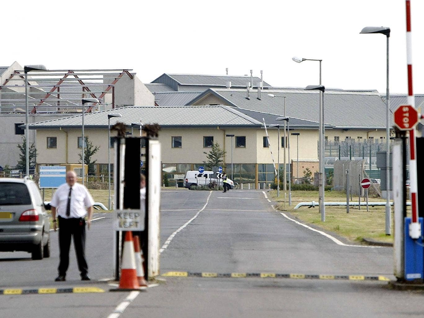 Yarl's Wood in Bedfordshire, Britain's largest Immigration Removal Centre