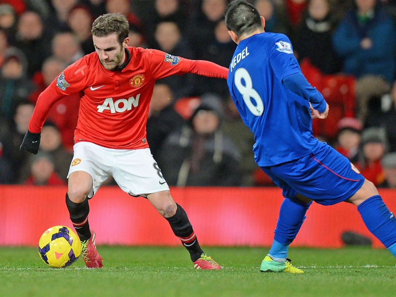 Juan Mata made an impressive debut for Manchester United