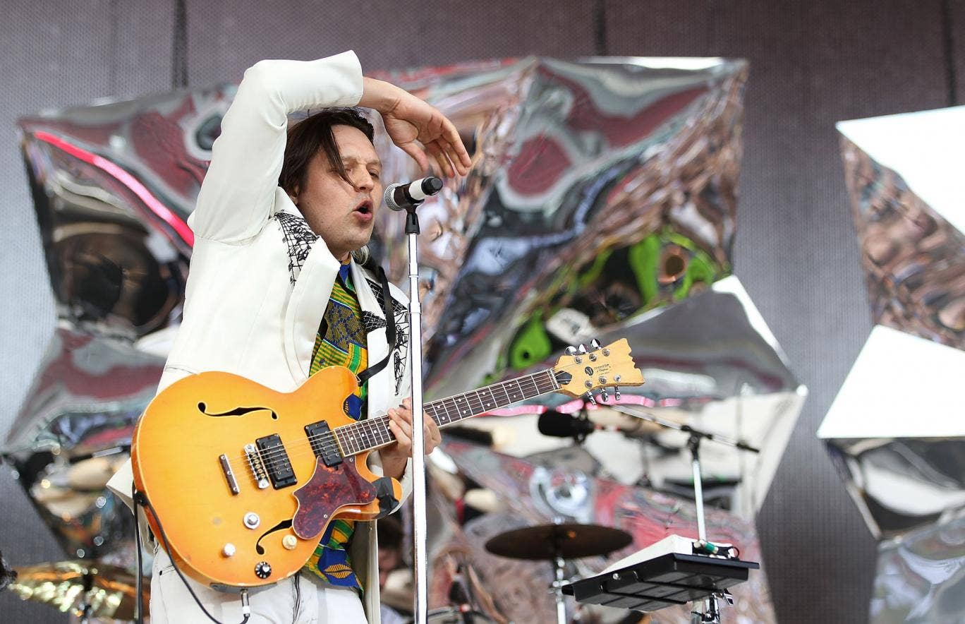 Win Butler of Arcade Fire. The band are confirmed to headline Primavera 2014