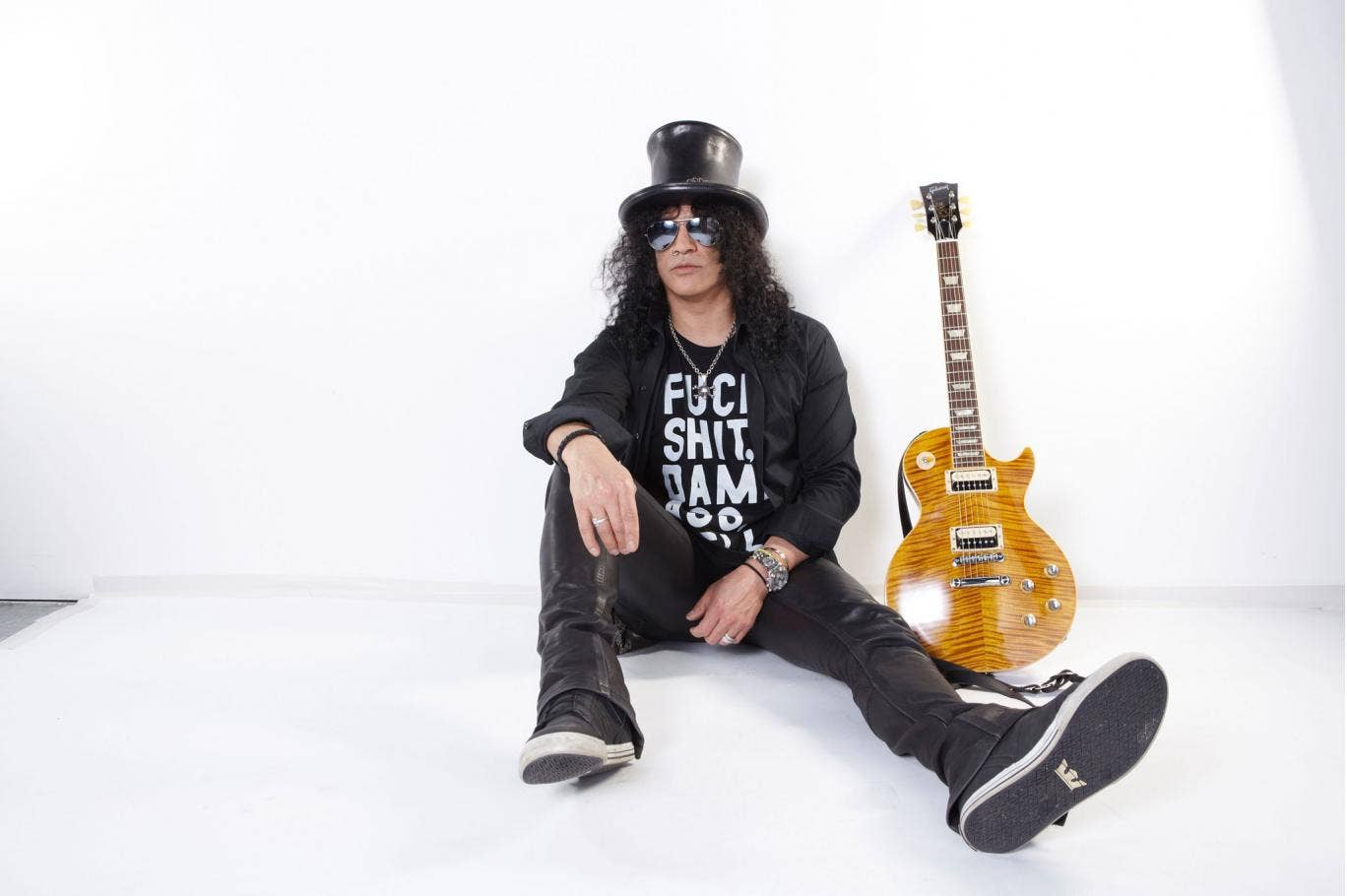 Slash says: 'I don't believe in what-ifs and should'ves and could'ves and that kind of thing. Fortunately I don't have any real regrets'