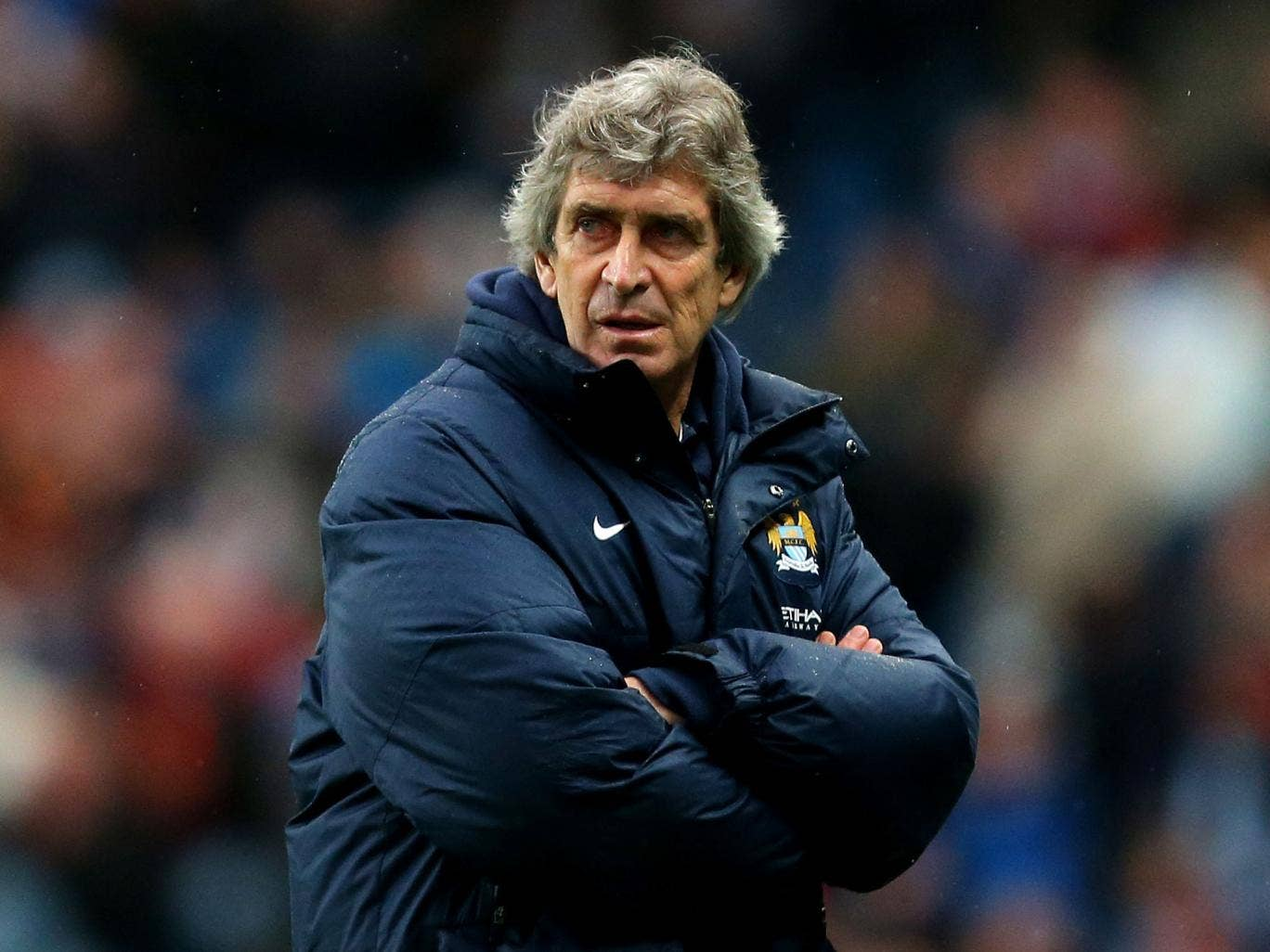Manuel Pellegrini has brought calm and aassurance to City