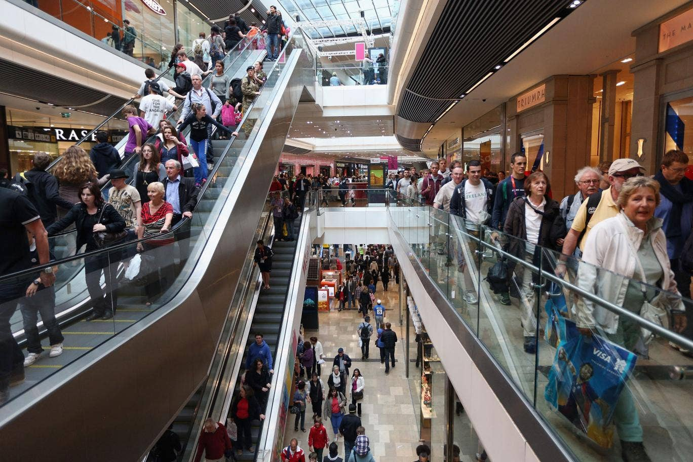Spending and social welfare: Shoppers at Westfield Stratford