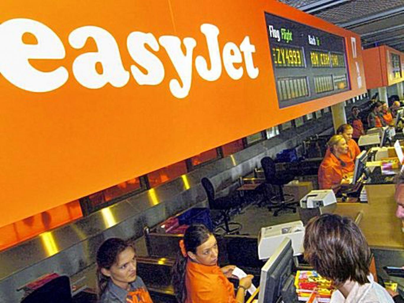 No go: easyJet blamed a database error