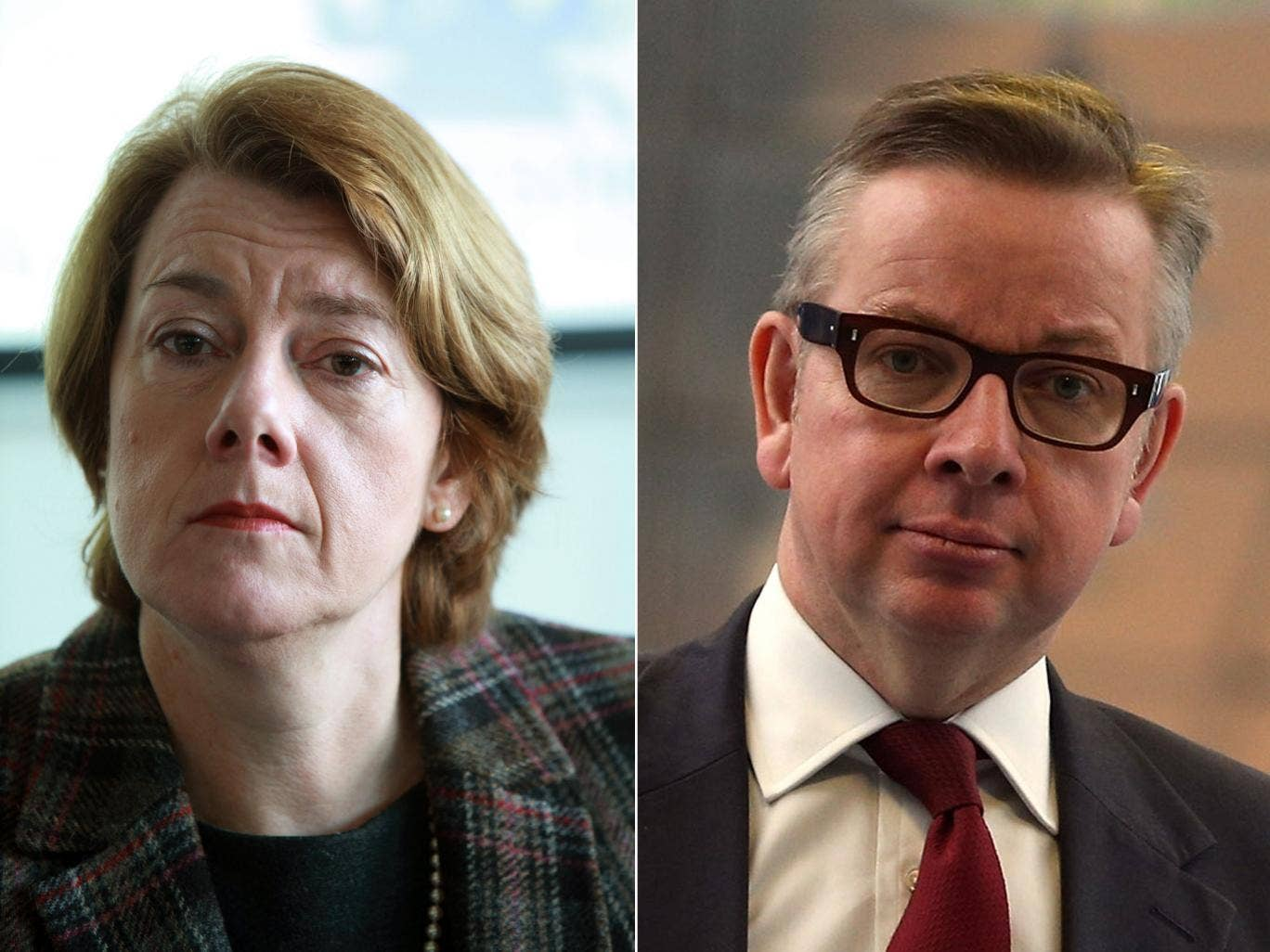 Michael Gove is to relieve chairman Dame Sally Morgan of her duties