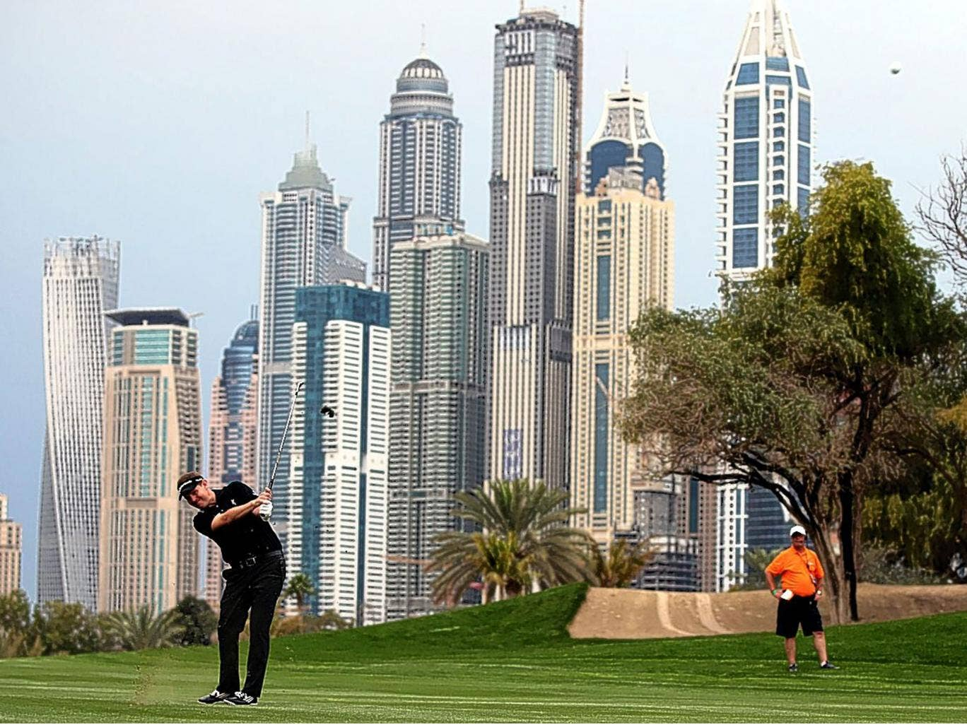 Stephen Gallacher became the first person to retain the trophy with victory in Dubai on Sunday