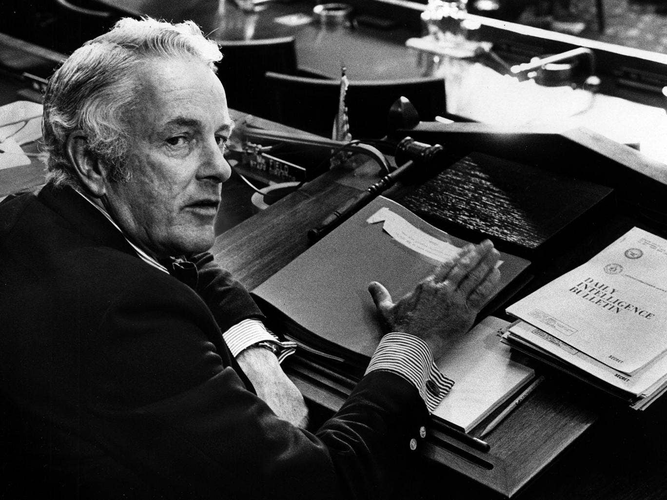 Pike in 1975: he was, said 'Time', 'the model of a properly pugnacious public servant'