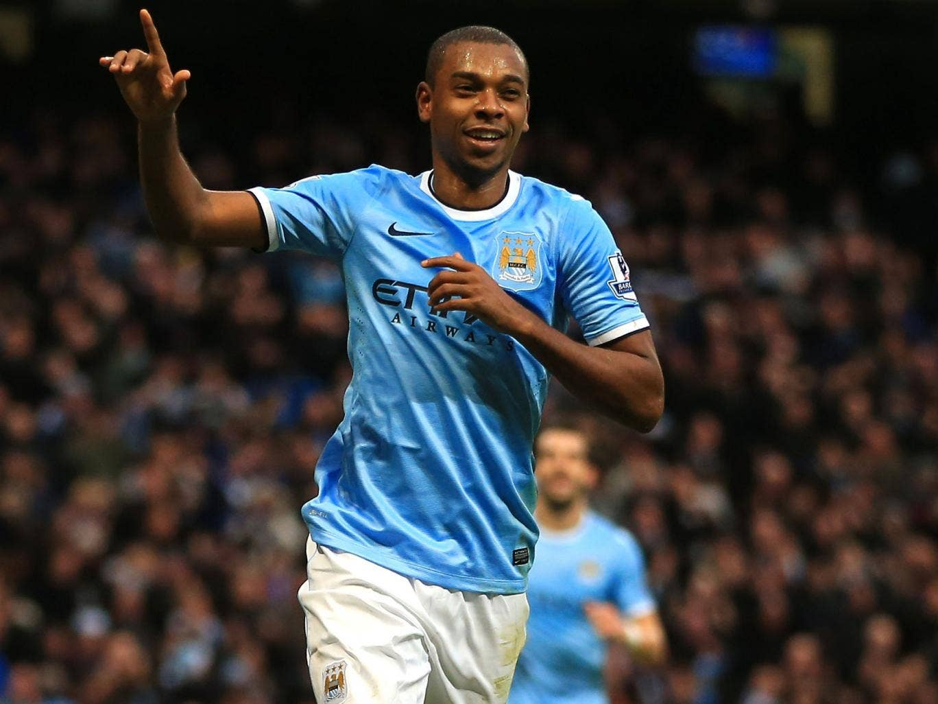 Fernandinho has settled in well at Manchester City, the Brazilian scoring twice in the 6-3 win over Arsenal in December
