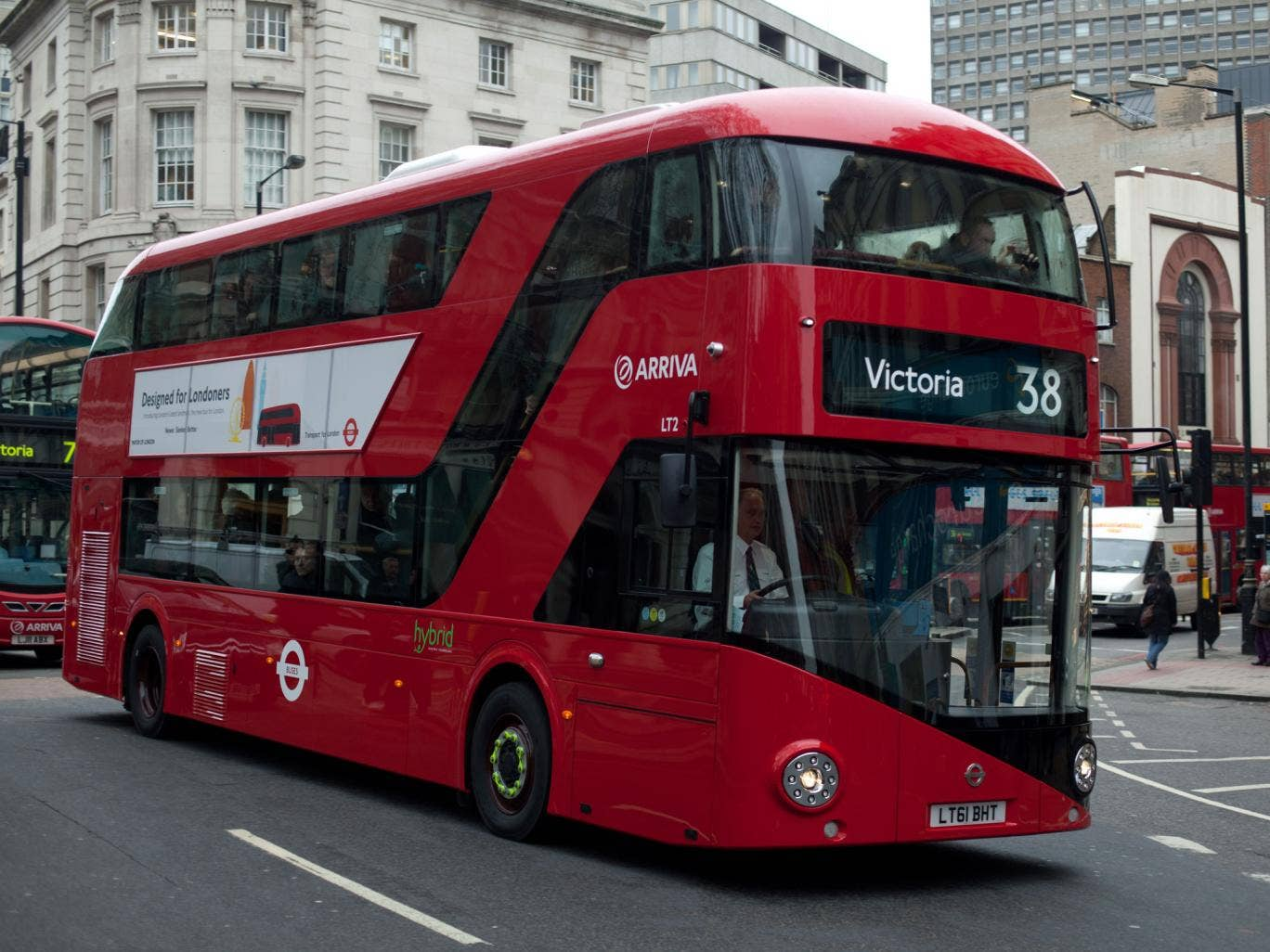 Thomas Heatherwick's new Routemaster. It has the distinctive curves and elegance of the old Routemaster, but unfortunately reduces capacity while increasing costs, says Andrew Adonis.