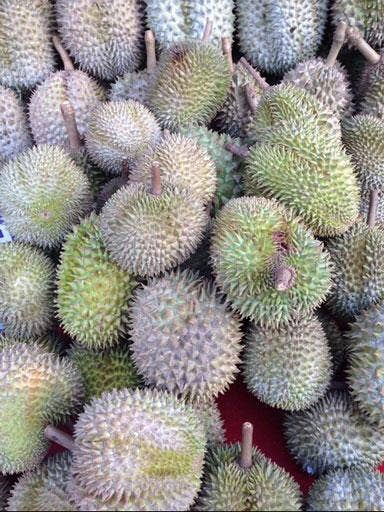 A fruit that has been banned from being eaten in public because of its sewage-like aroma.
