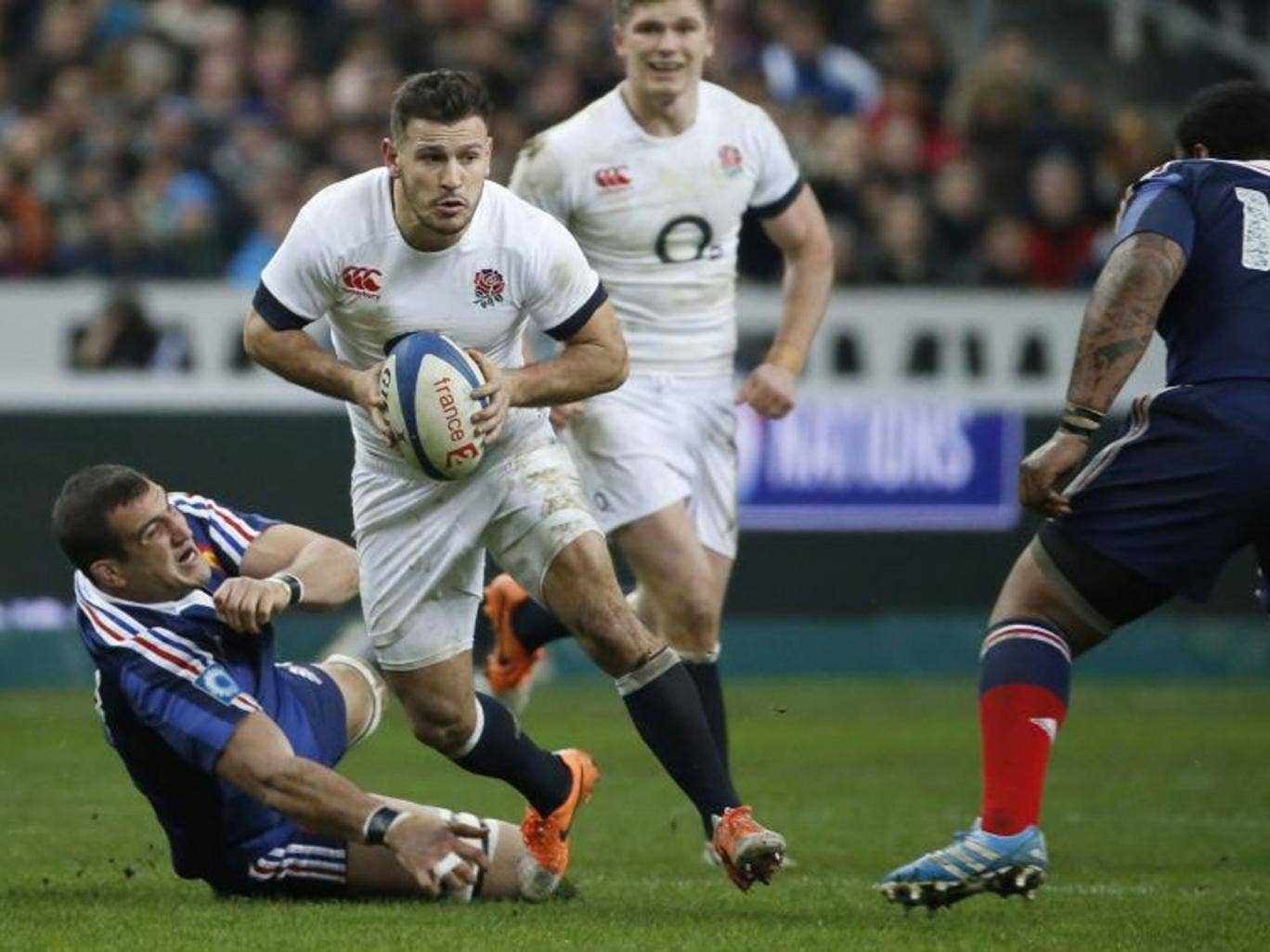 Replacing Danny Care (above) with Lee Dickson against France was criticised in some quarters