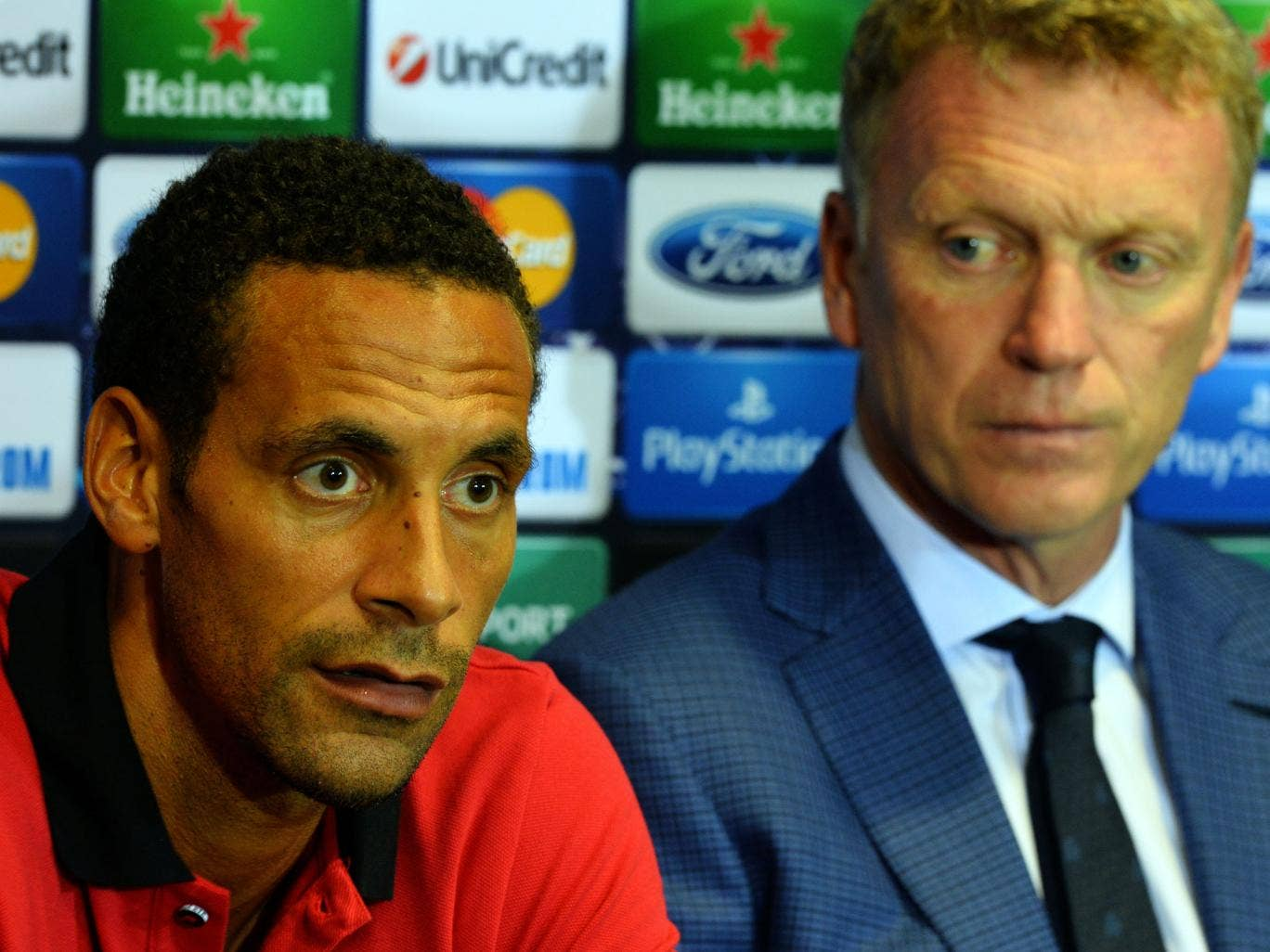 Rio Ferdinand still has a role to play at Manchester United according to David Moyes