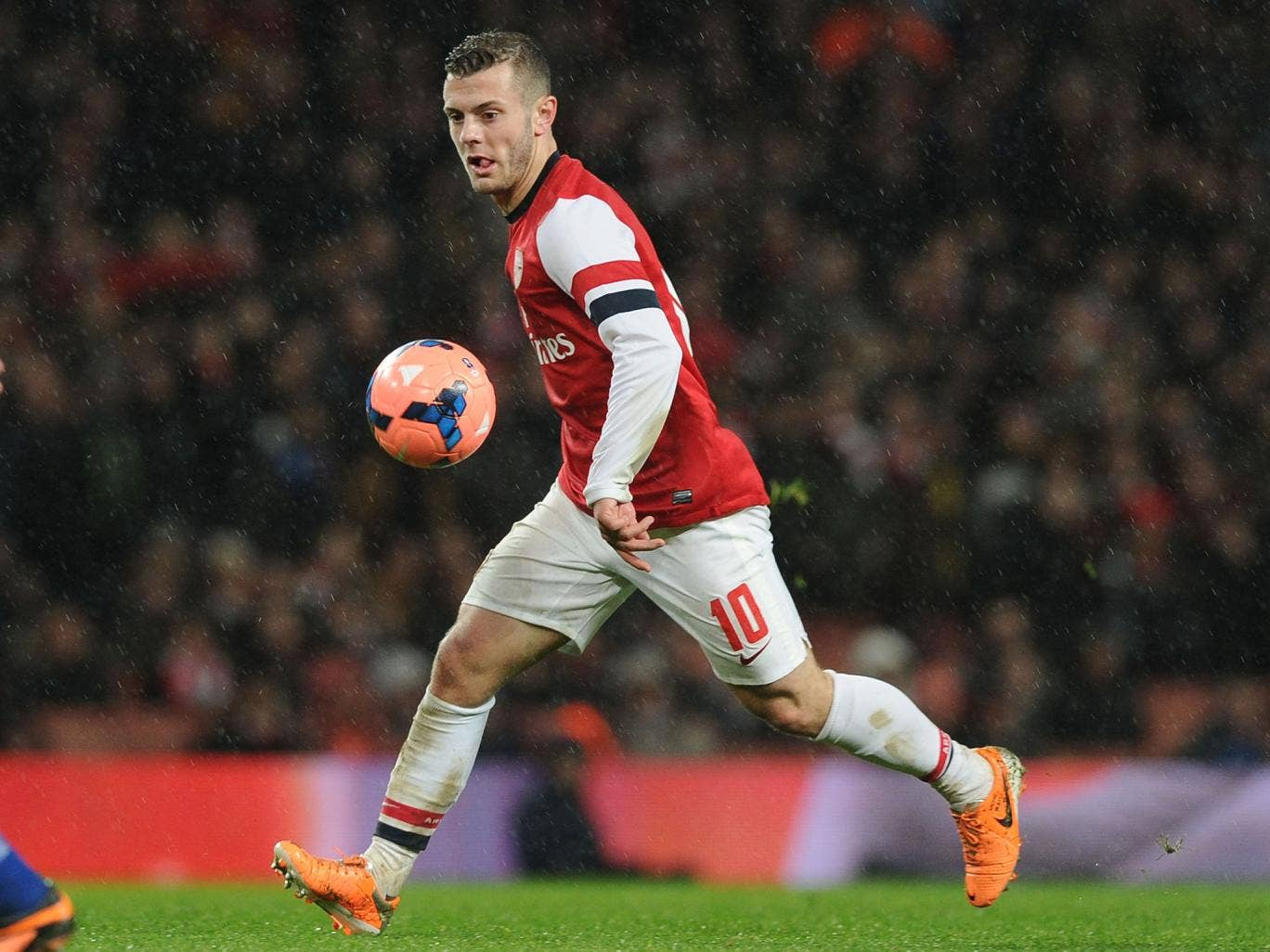 Jack Wilshere could make his return from an ankle injury in the Premier League trip to Liverpool