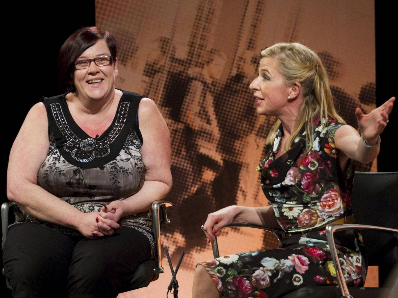 White Dee from Benefits Street and Katie Hopkins took part in a heated debate during Monday night's The Big Benefits Row: Live